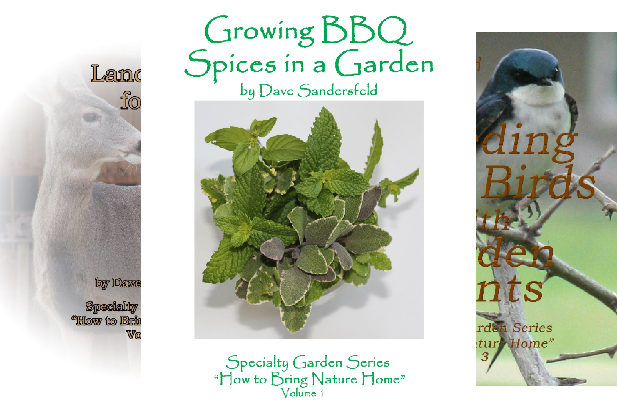 Specialty Garden Series (3 Book Series)