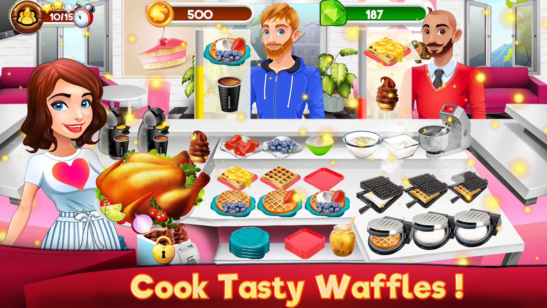 Mädchen Spiele Kochen