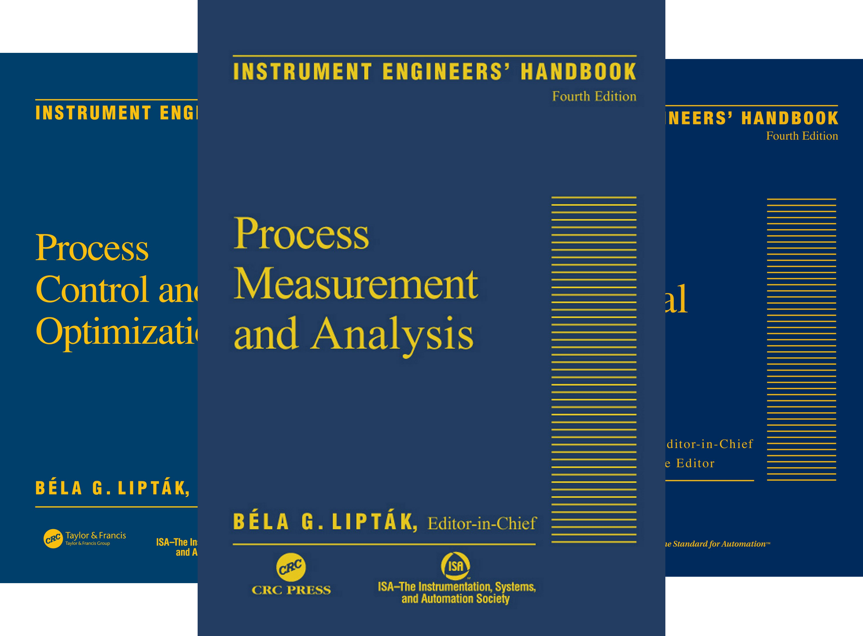 Instrument Engineers Handbook, Fourth Edition, Three Volume Set (3 Book Series)
