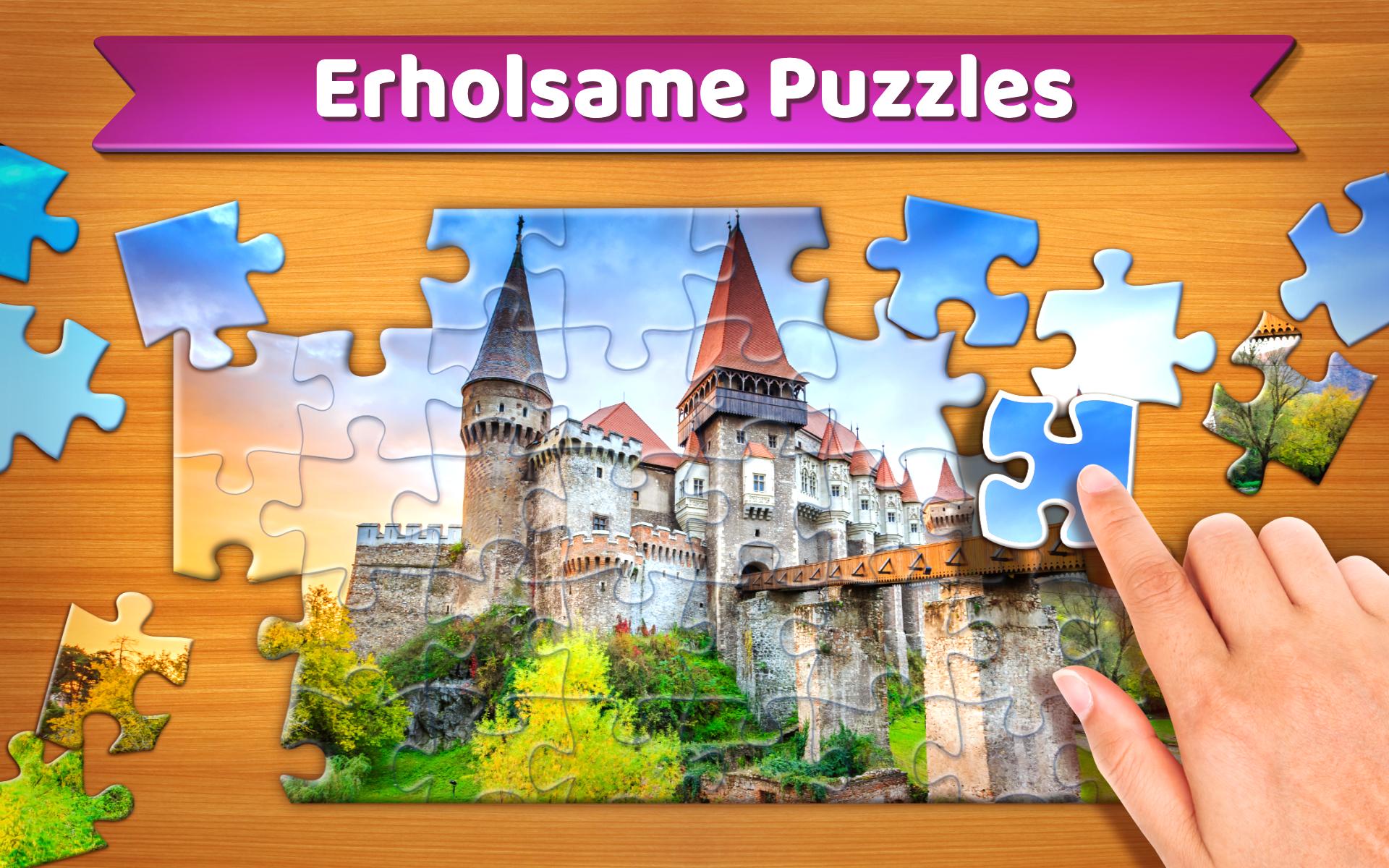 Kostenlos spielen und gewinnen bilder puzzle