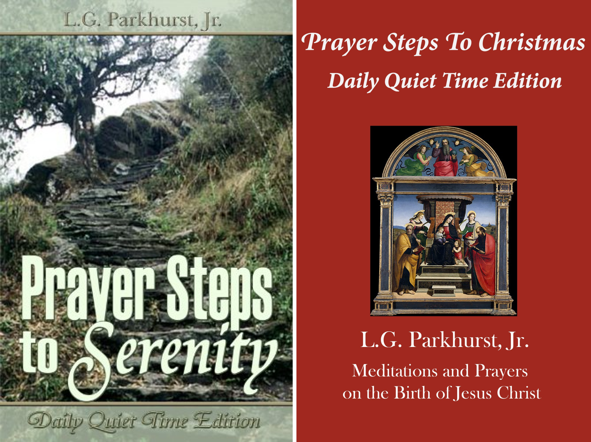 Prayer Steps (2 Book Series)