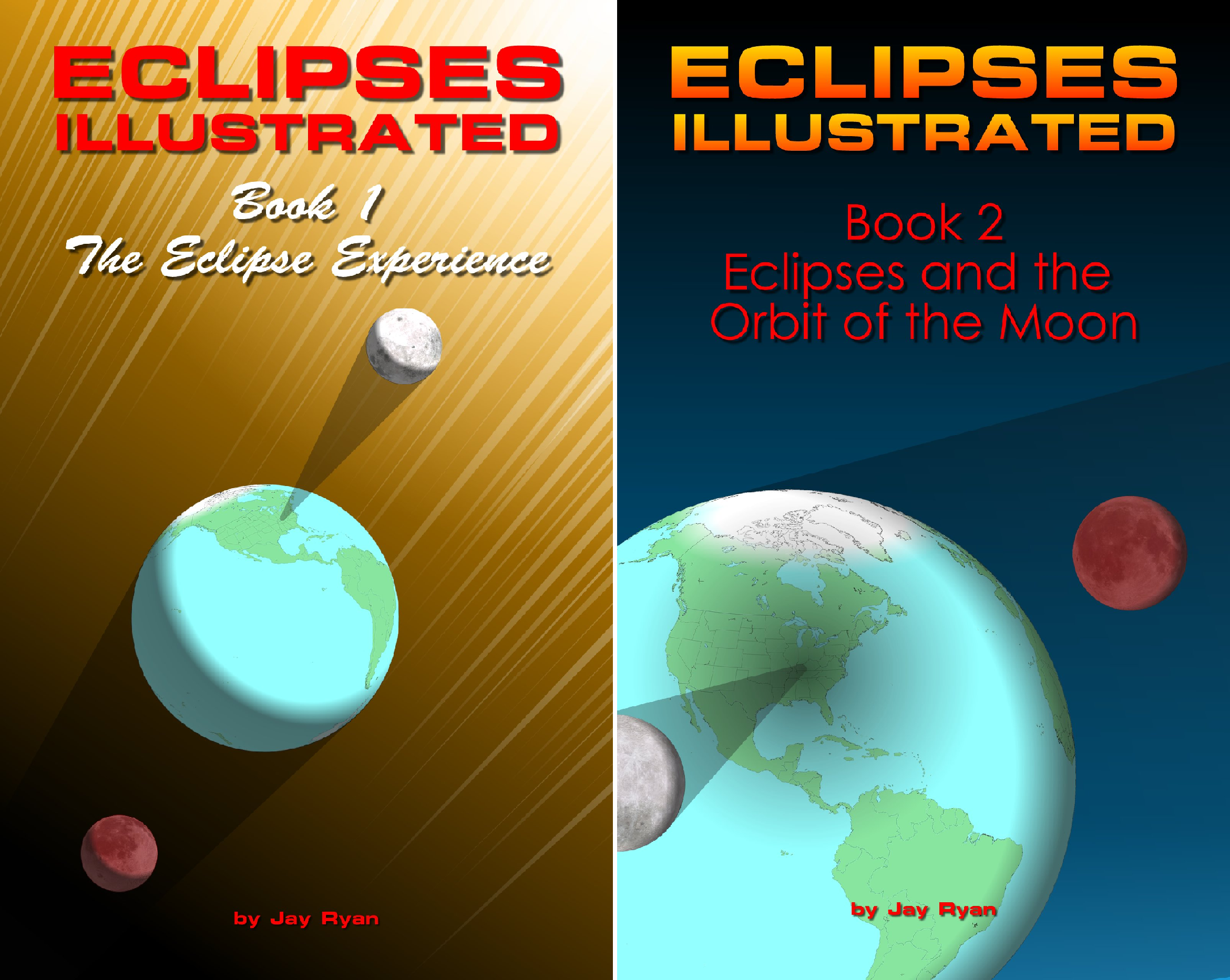 Eclipses Illustrated (2 Book Series)