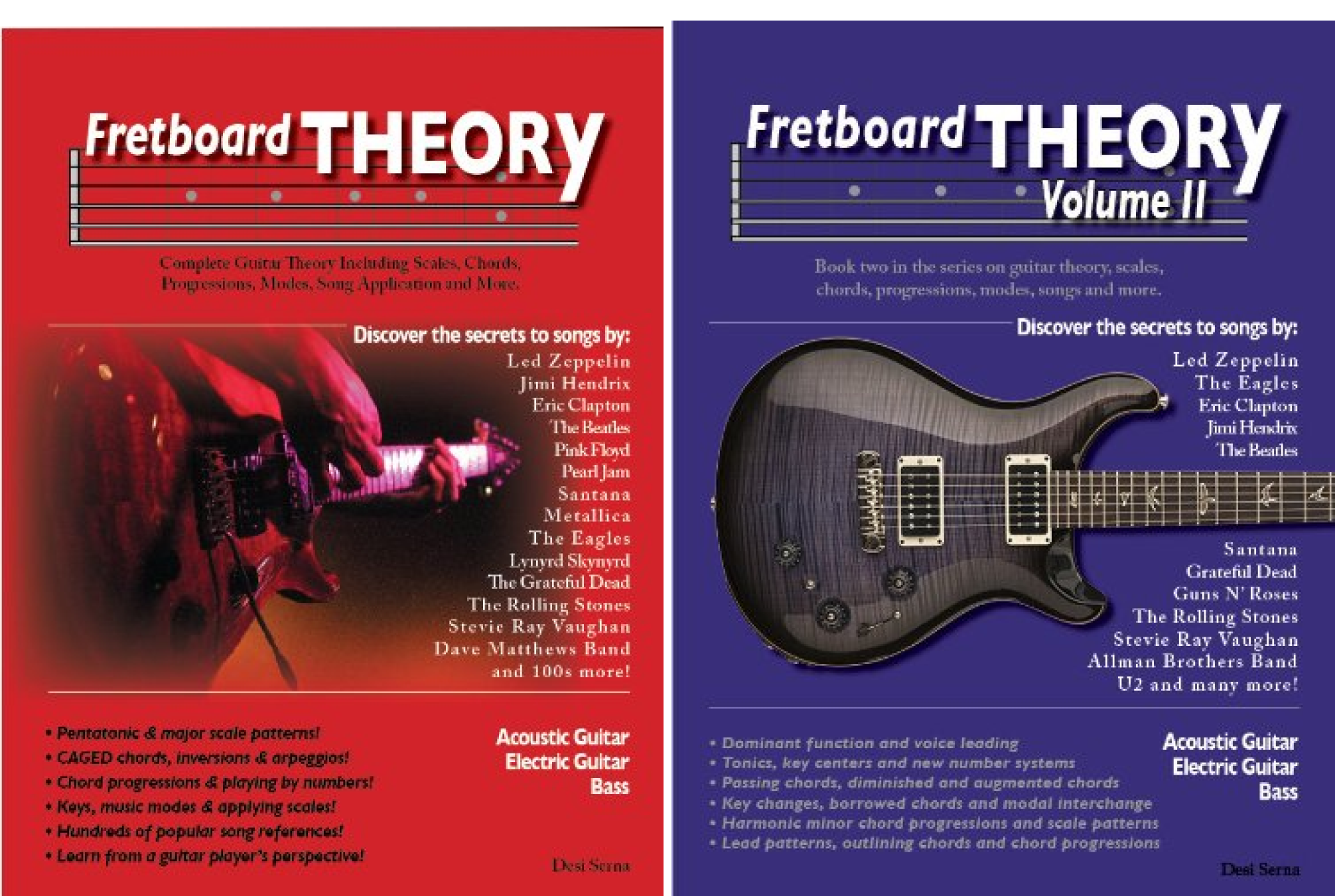 Fretboard Theory Volumes I Ii Combined The Complete Guitar Theory