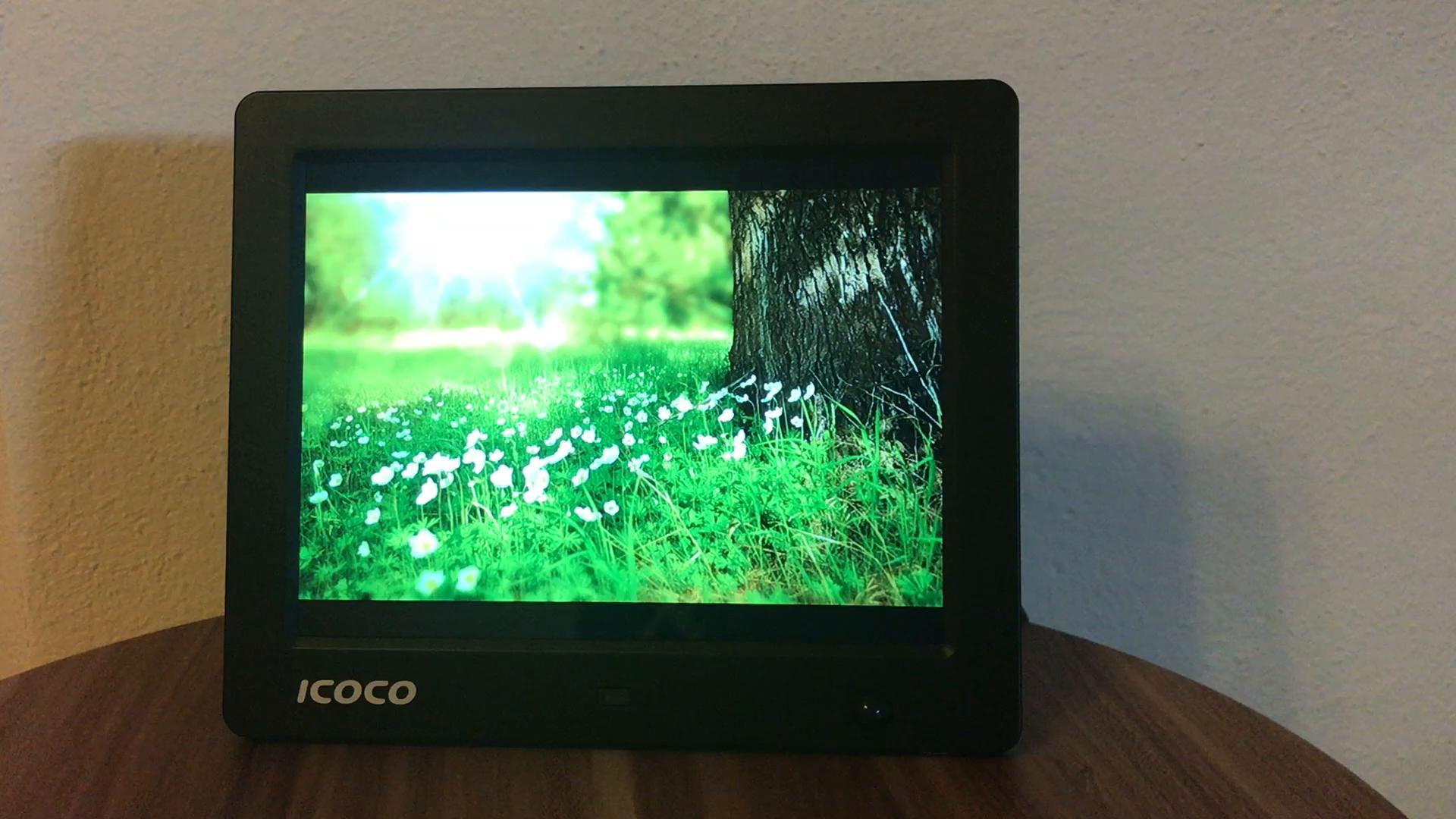 Digitaler Bilderrahmen 11.6 Zoll, ICOCO HD 1920*1080P: Amazon.de: Kamera
