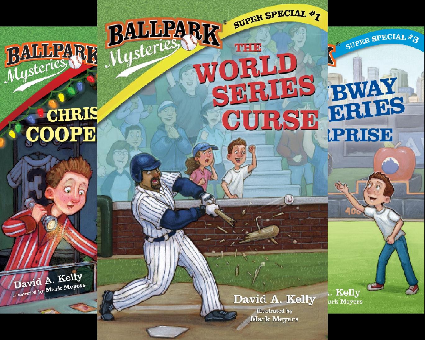Ballpark Mysteries Super Special (3 Book Series) -