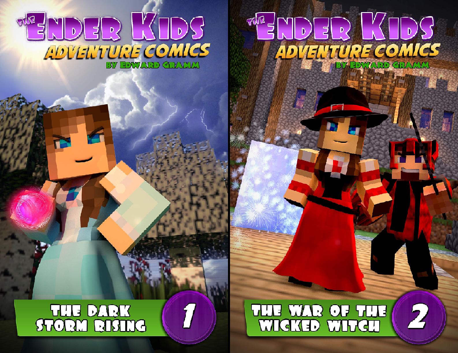 The Ender Kids Adventure Comics (2 Book Series)