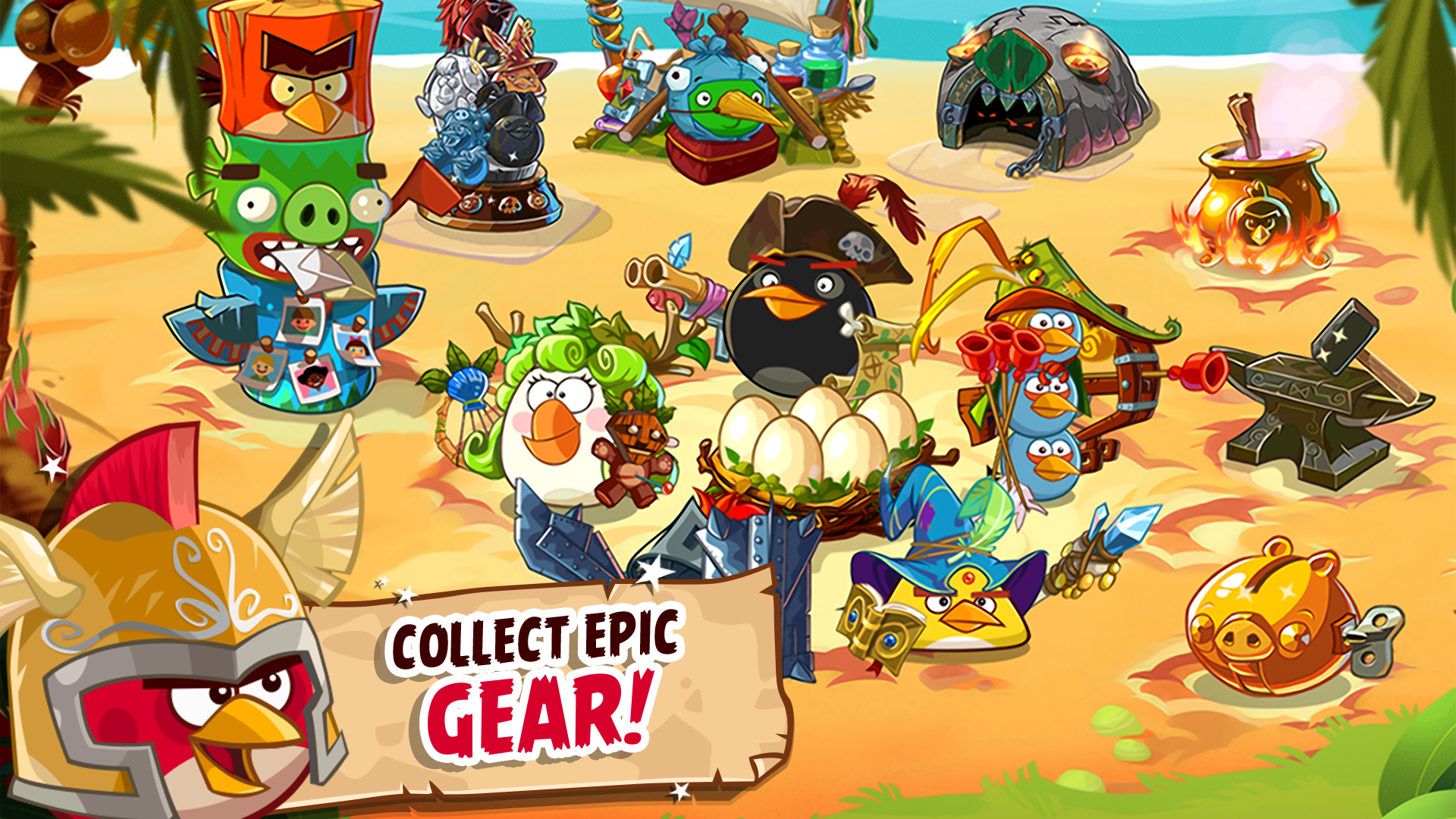 Angry Birds Epic Amazon De Apps F 252 R Android