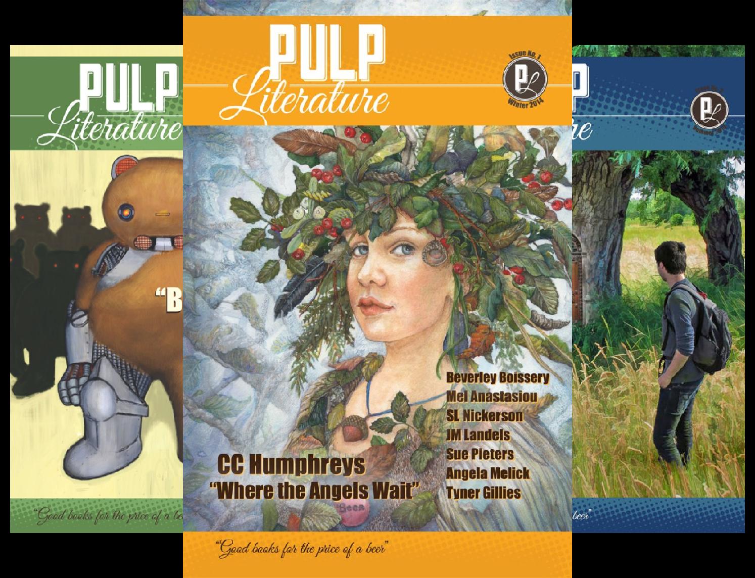 Pulp Literature (16 Book Series) Hunter Piccolo