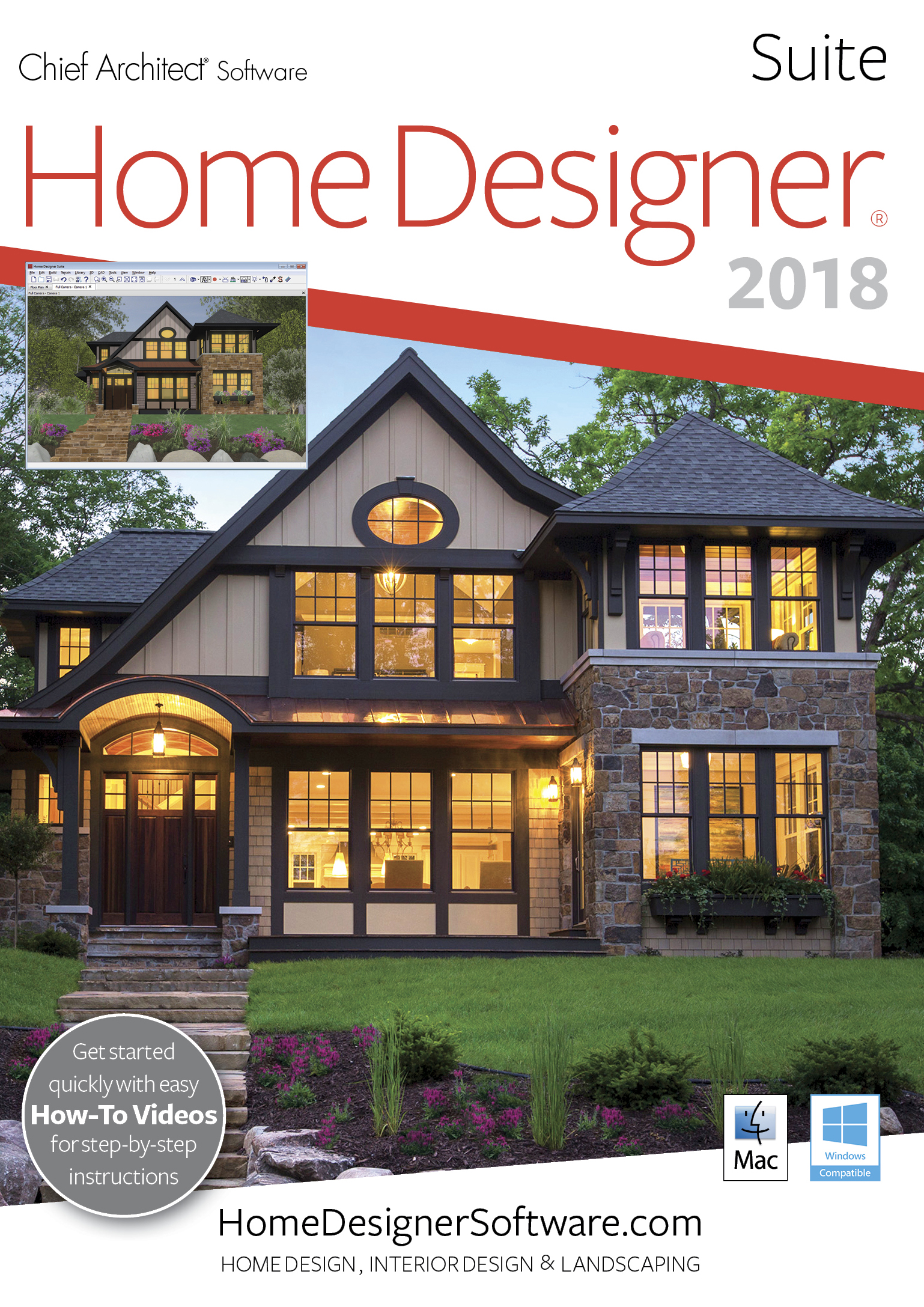 Home Designer Suite 2018 - PC Download [Téléchargement]