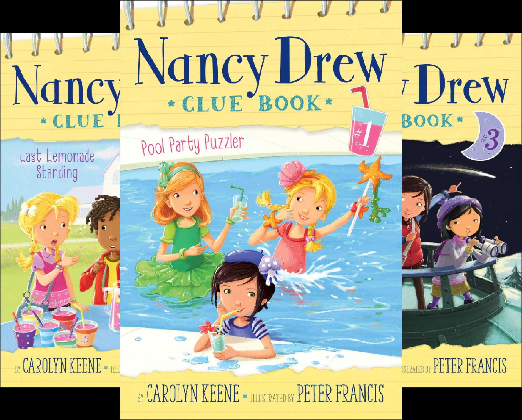 Nancy Drew Clue Book (12 Book Series)