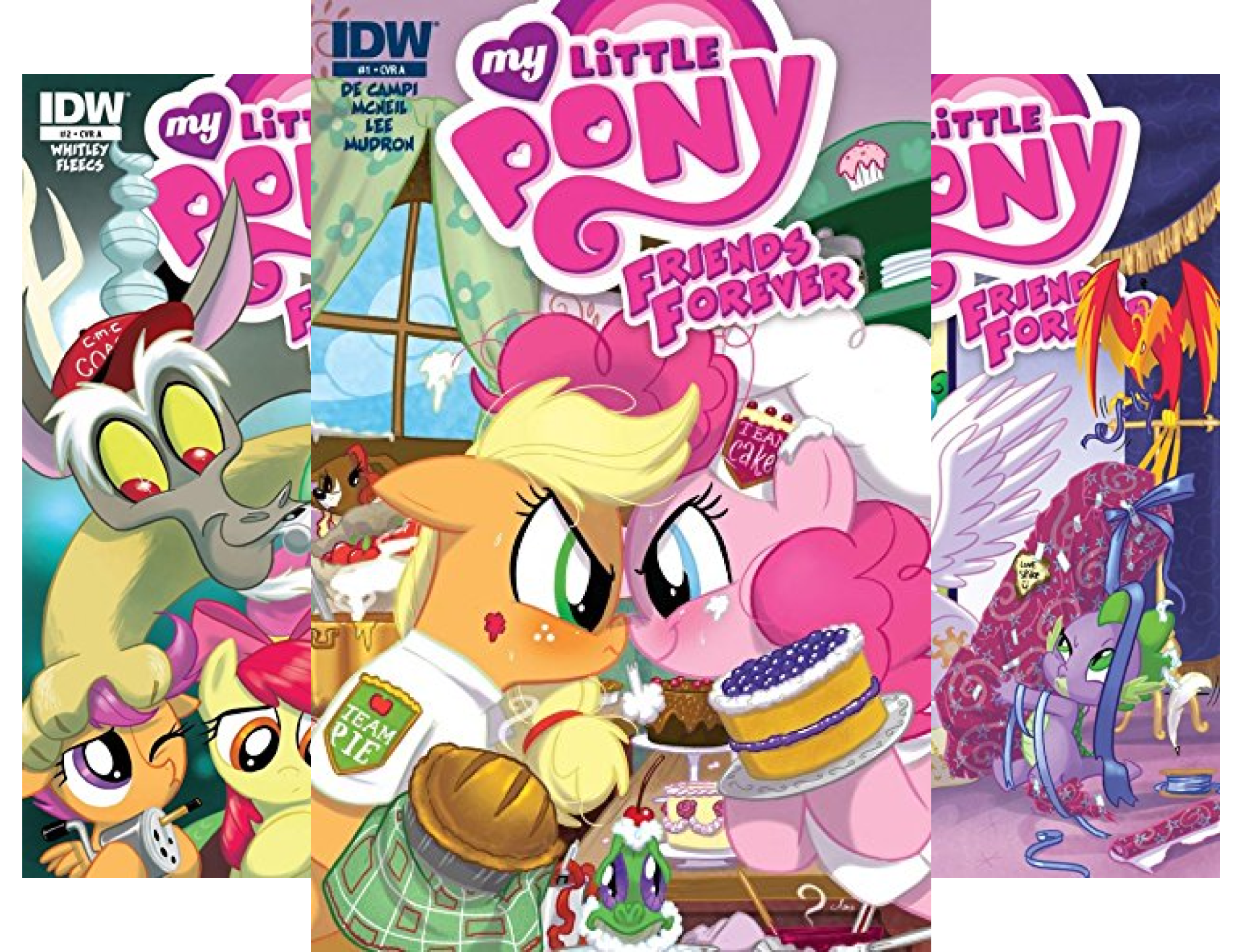 My Little Pony Friends Forever Graphic Novel (24 Book Series)