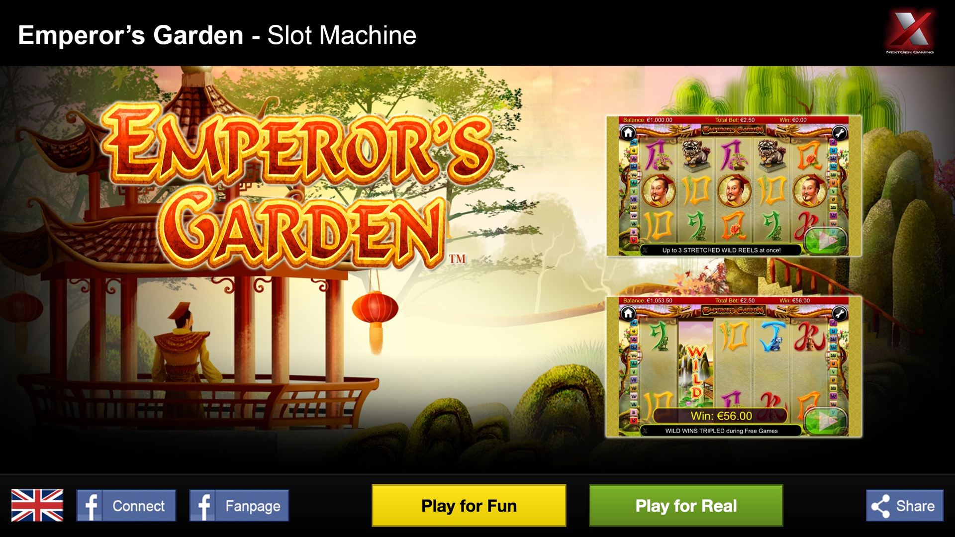 Emperor's Garden Slot Machine