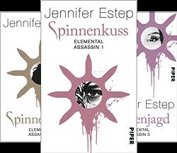 Elemental Assassin (Reihe in 10 Bänden) von  Jennifer Estep