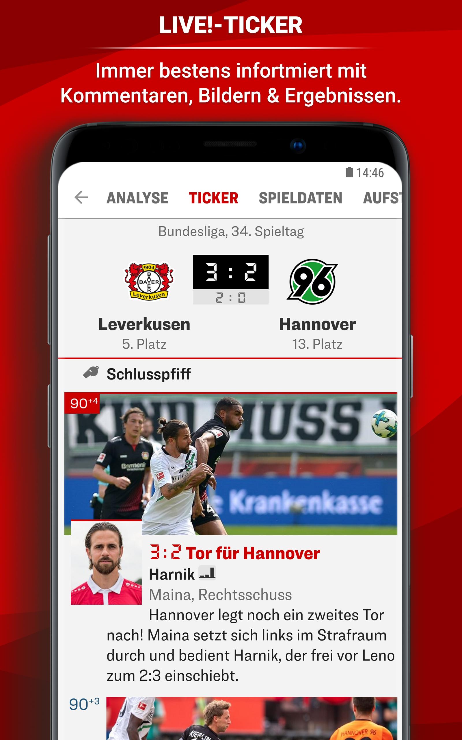 Kicker Bundesliga Ticker