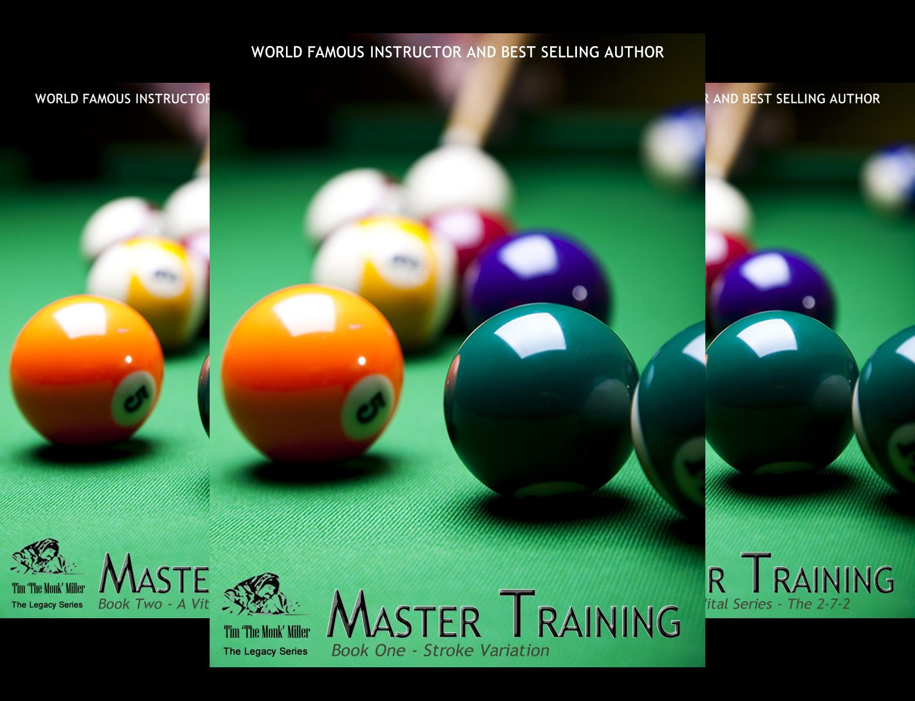 The Monk Billiard Academy Master Training Legacy Series (6 Book Series)