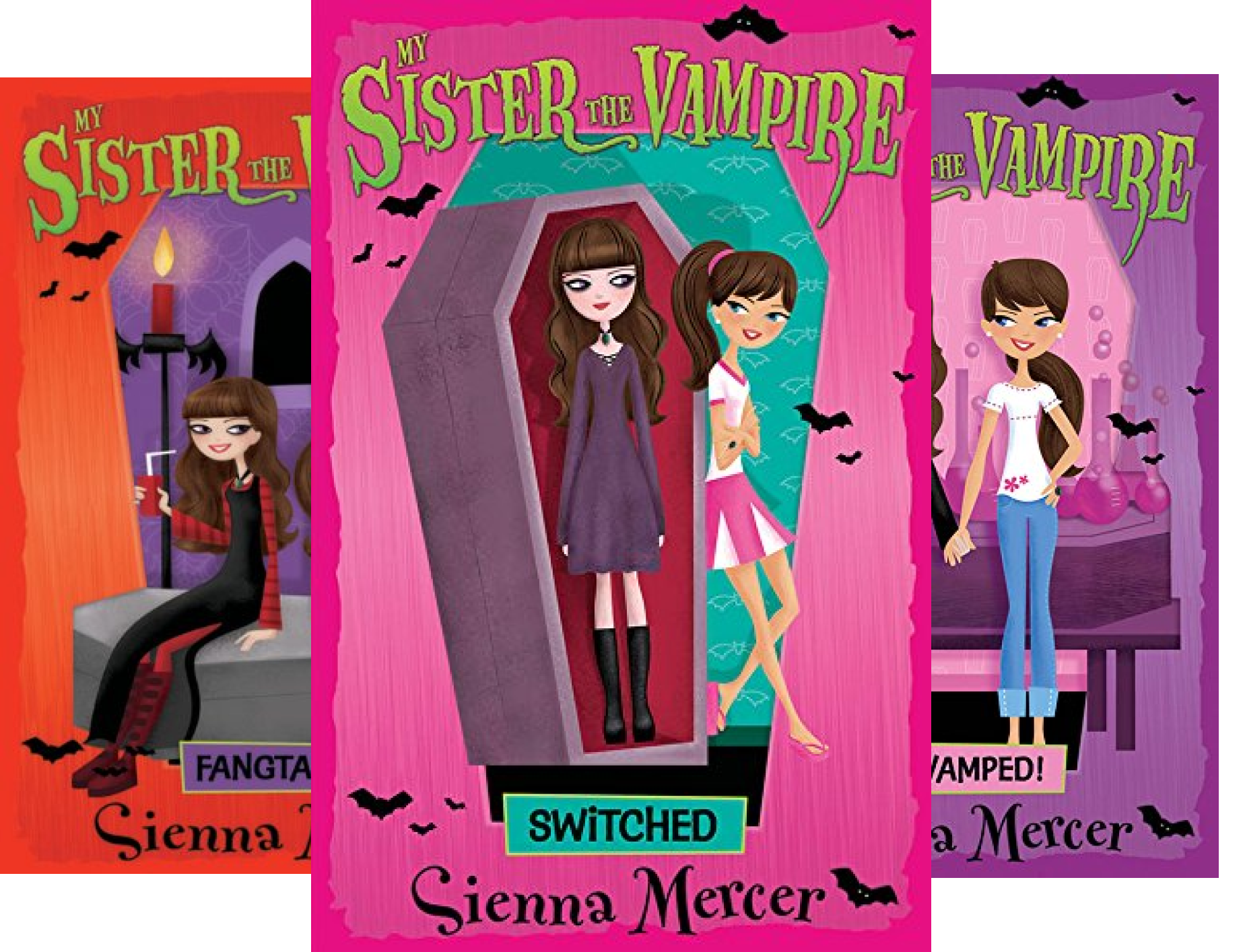 My Sister the Vampire (18 Book Series)