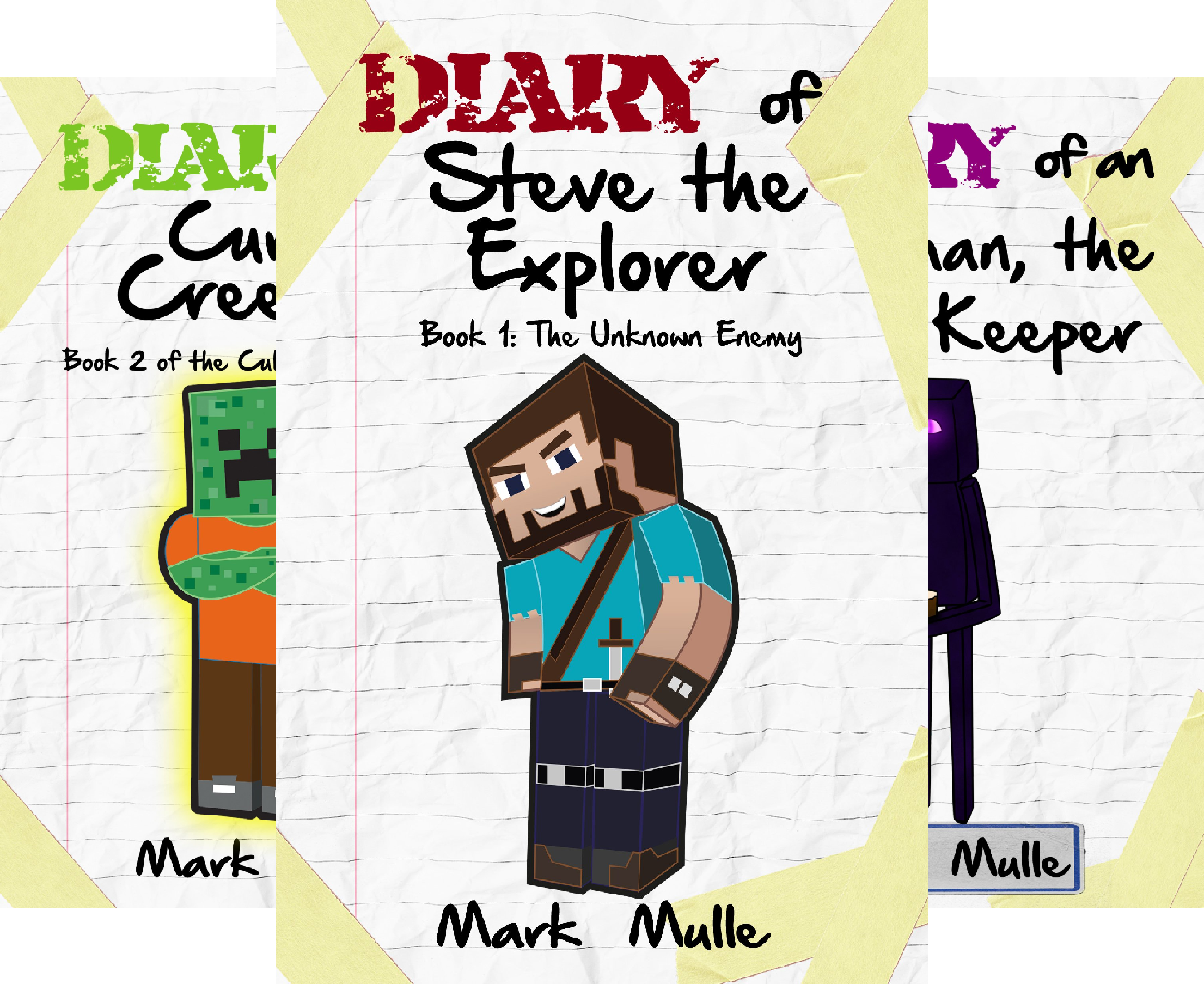 Cube World Chronicles (3 Book Series)