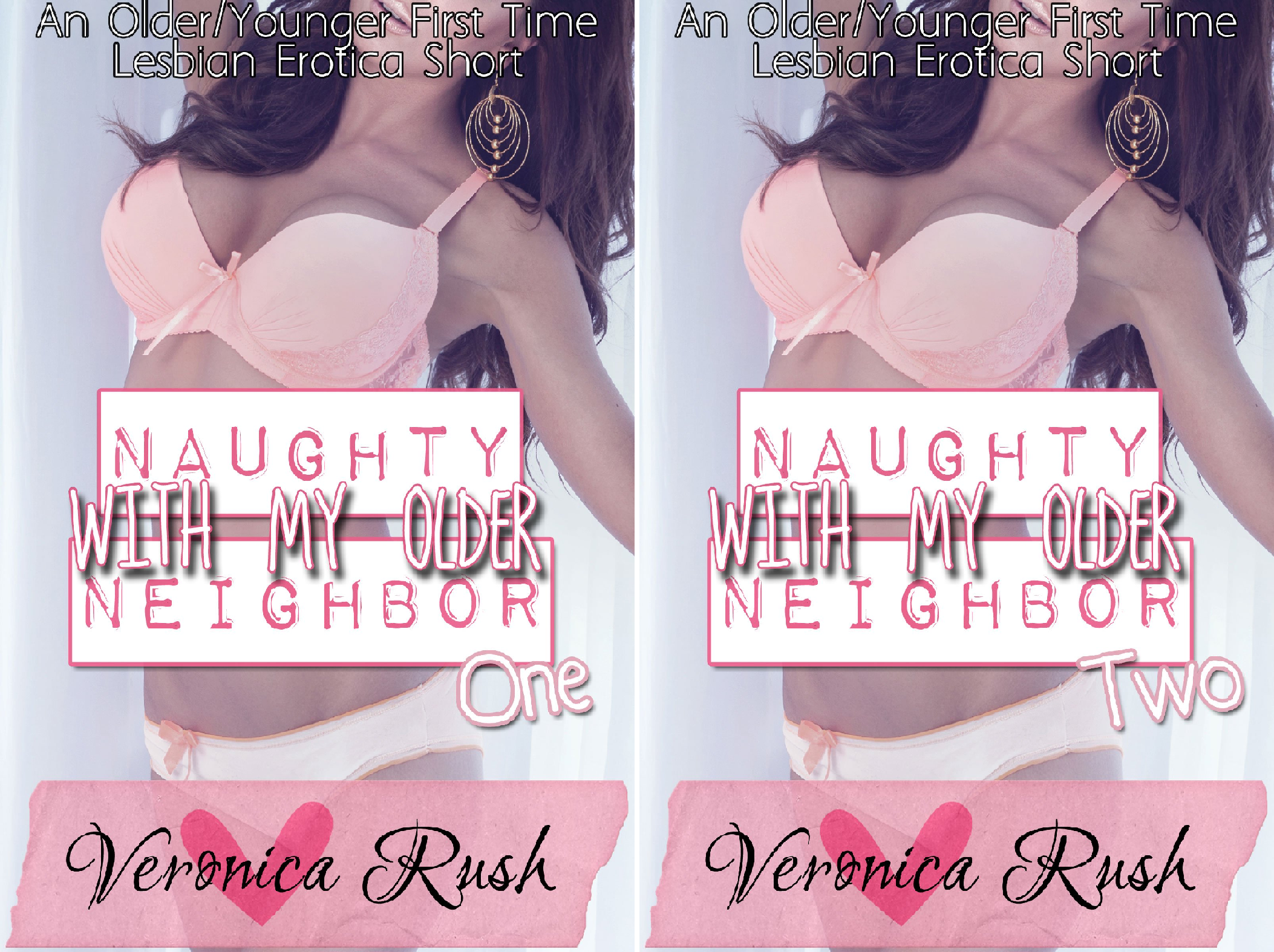 Naughty With My Older Neighbor (2 Book Series) -