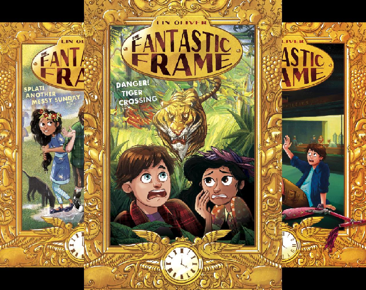 The Fantastic Frame (5 Book Series)