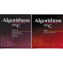 Algorithms in C, Parts 1-5 (Bundle): Fundamentals, Data Structures, Sorting, Searching, and Graph Algorithms (3rd Edition) (2 Book Series)