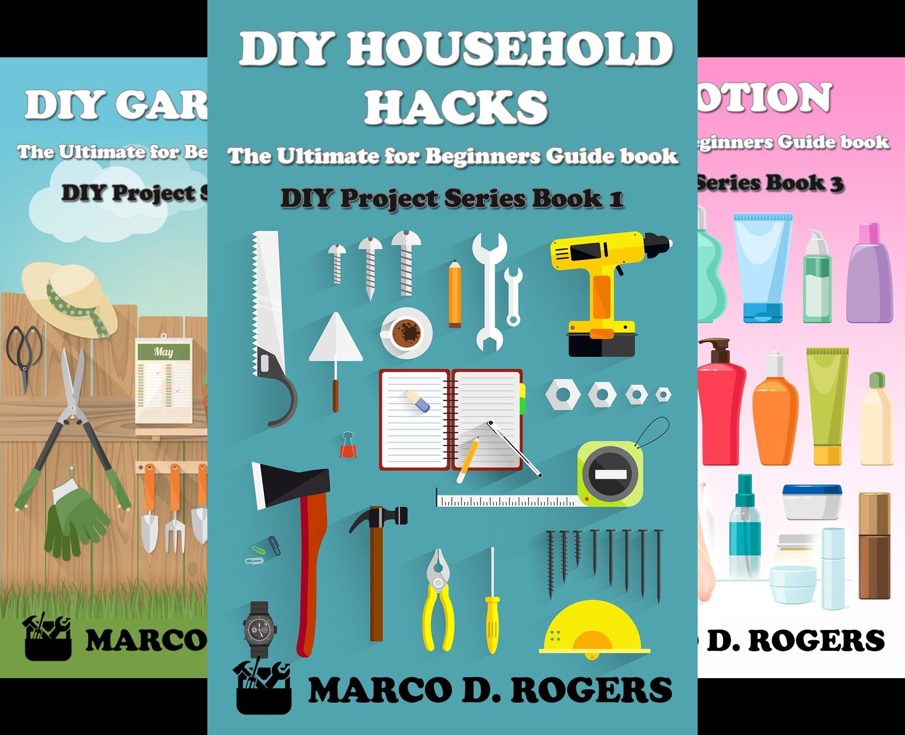 DIY Project Series (4 Book Series)