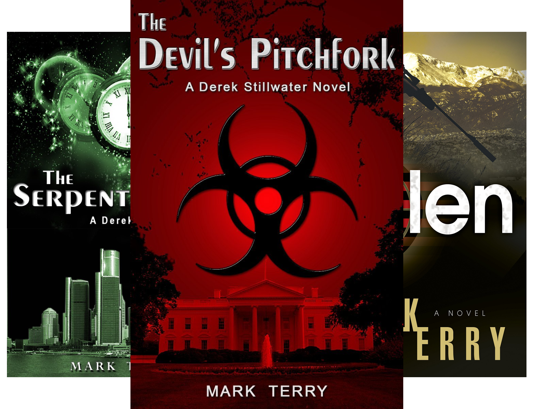 Derek Stillwater Thriller (9 Book Series)