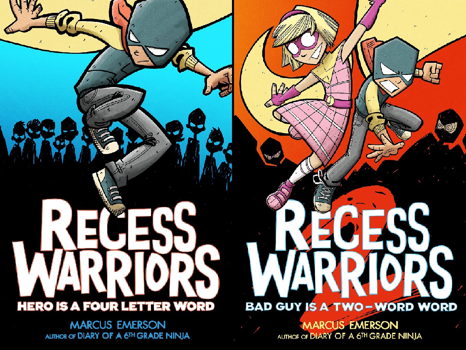 Recess Warriors (2 Book Series)