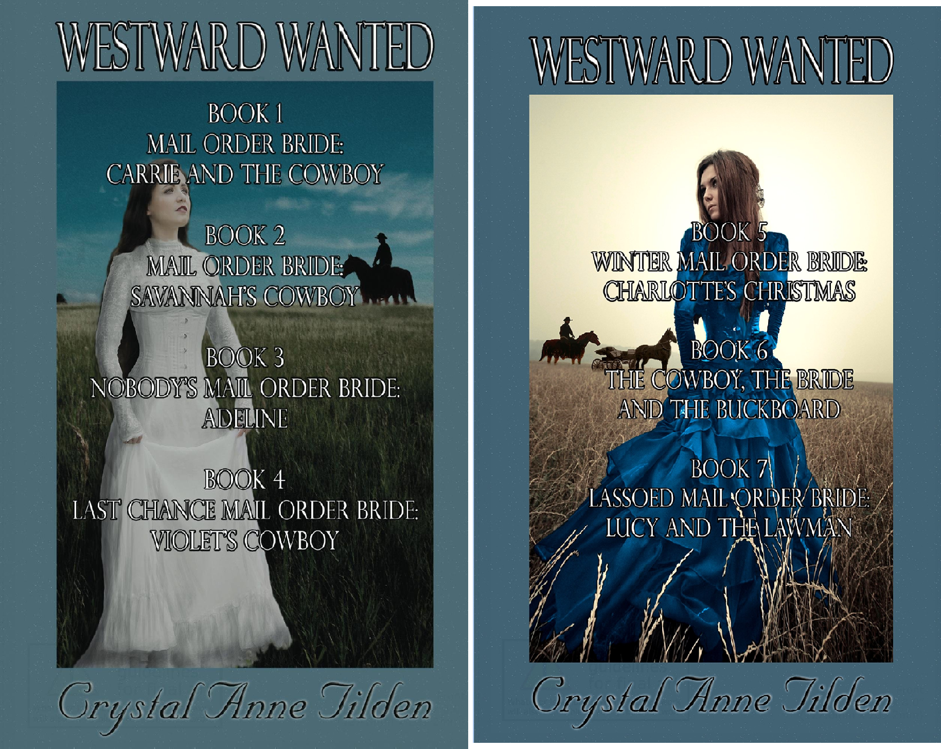 Westward Wanted (2 Book Series) -