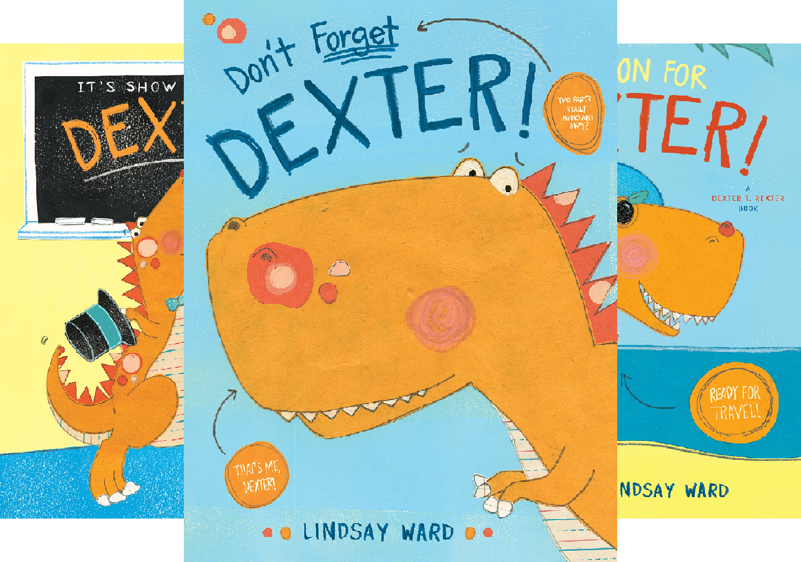 Dexter T. Rexter (3 Book Series)