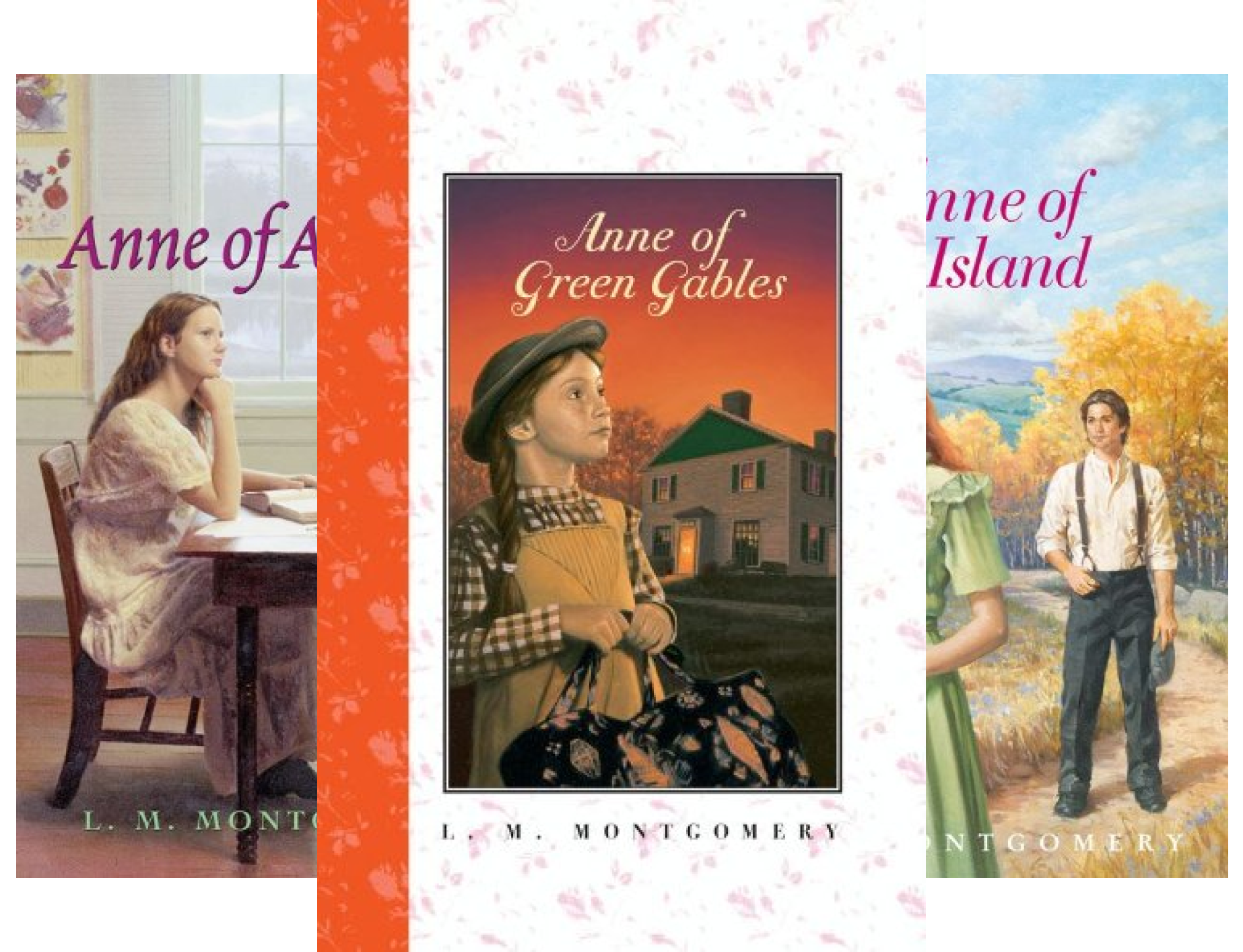 Anne of Green Gables (3 Book Series)