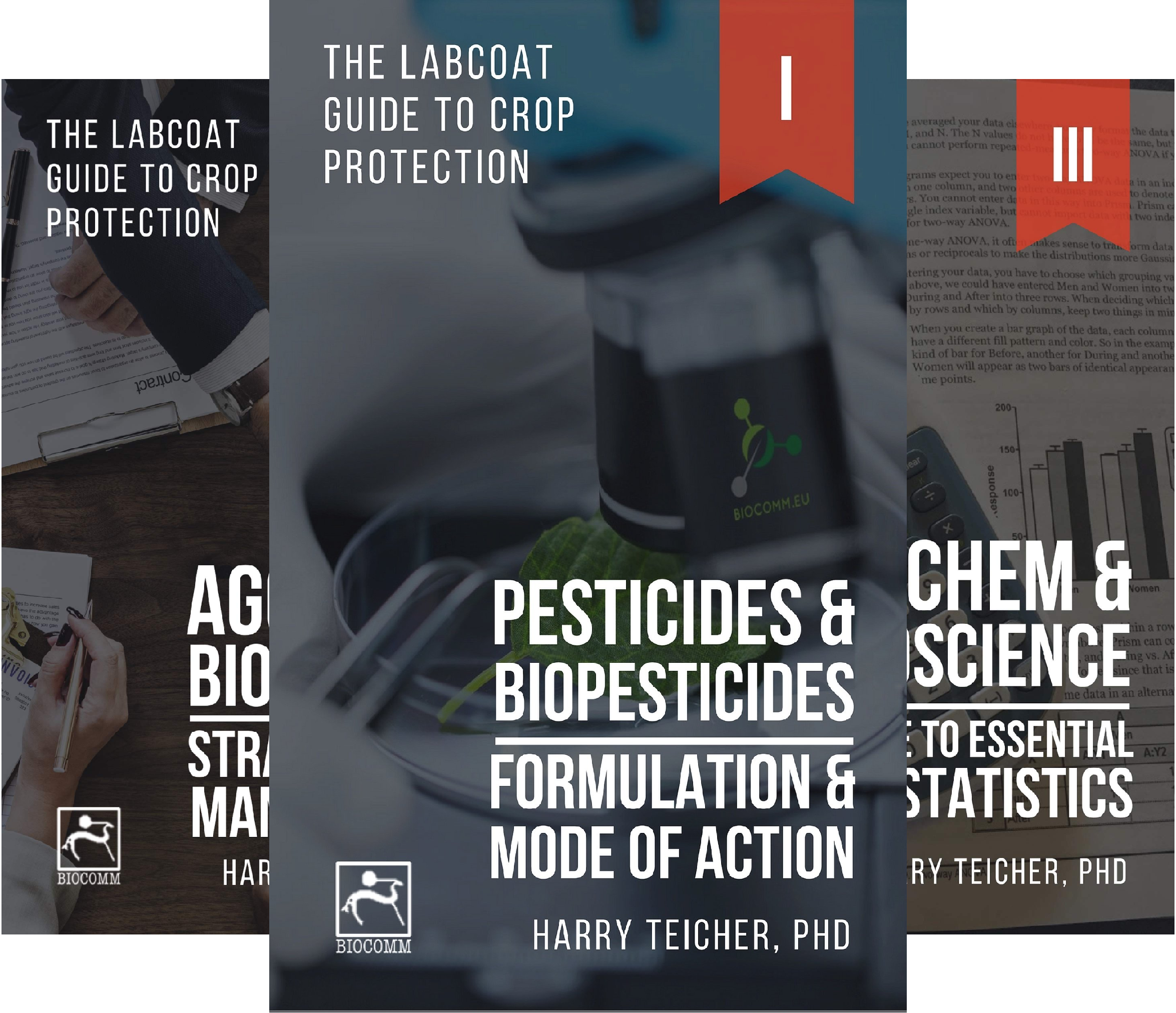 THE LABCOAT GUIDE TO CROP PROTECTION (4 Book Series)