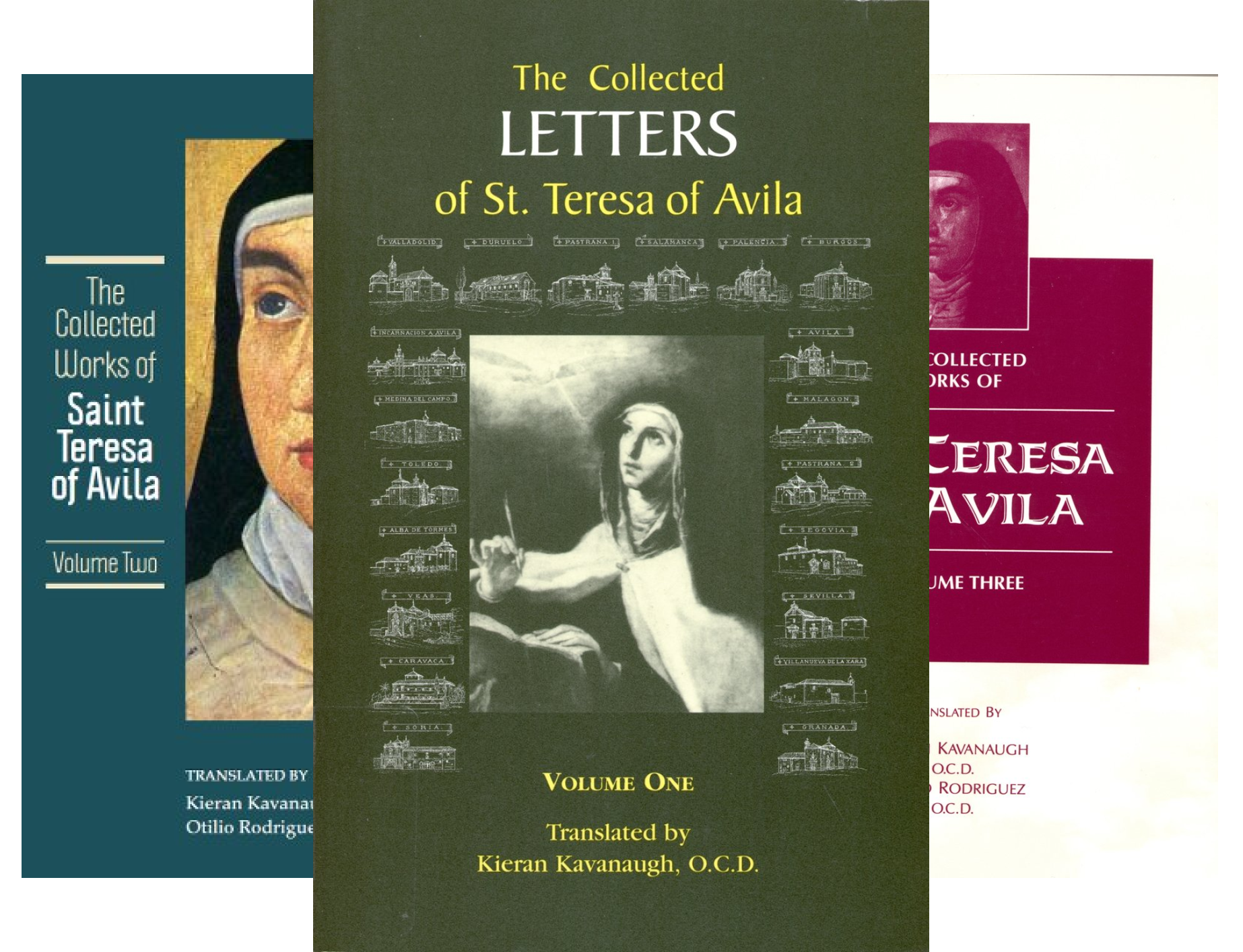 Collected Works of St. Teresa of Avila (3 Book Series)