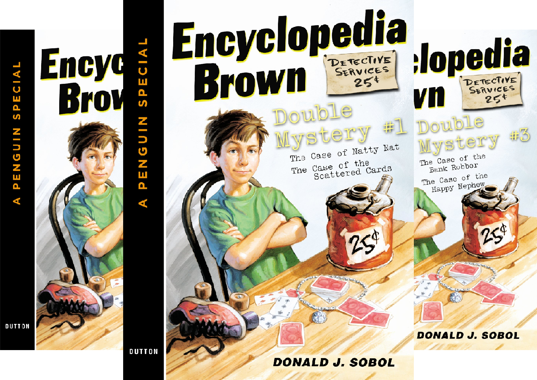 Encyclopedia Brown Double Mystery