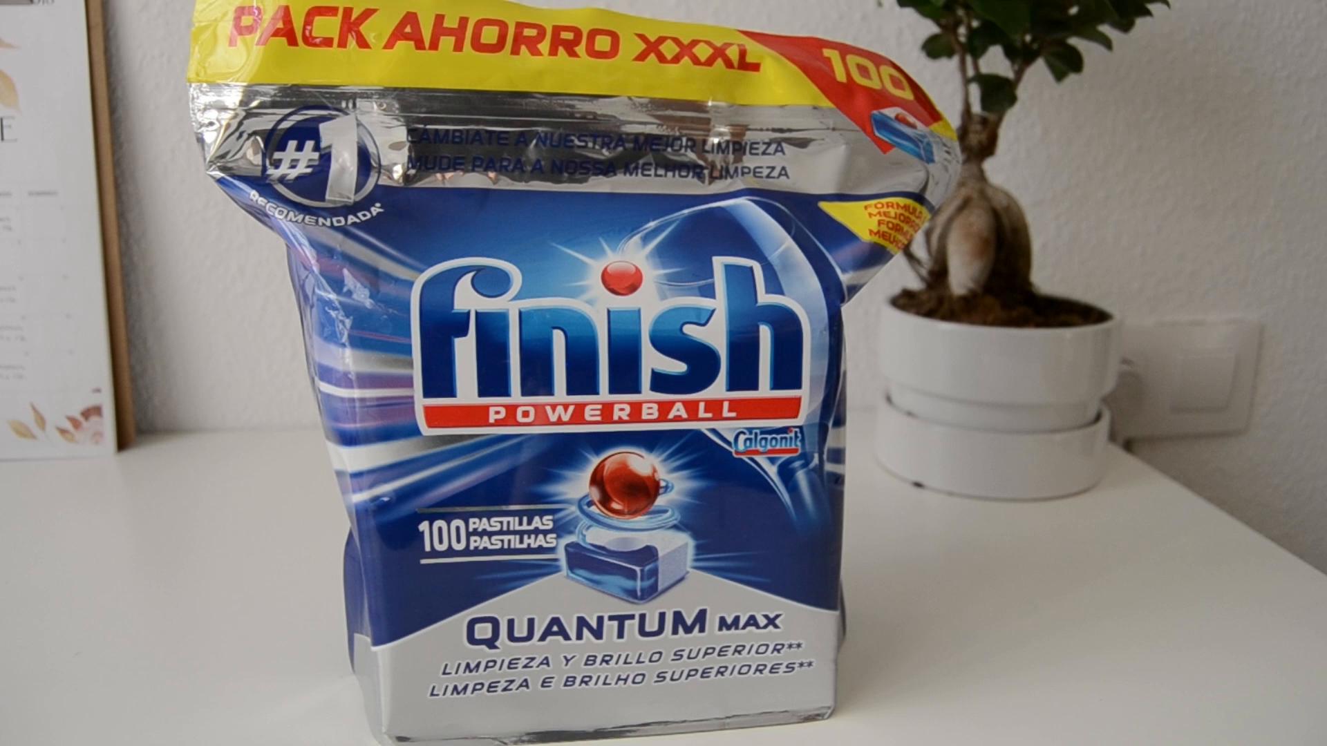 Finish Quantum Limón Pastillas para Lavavajillas - 26 + 14 pastillas: Amazon.es: Amazon Pantry