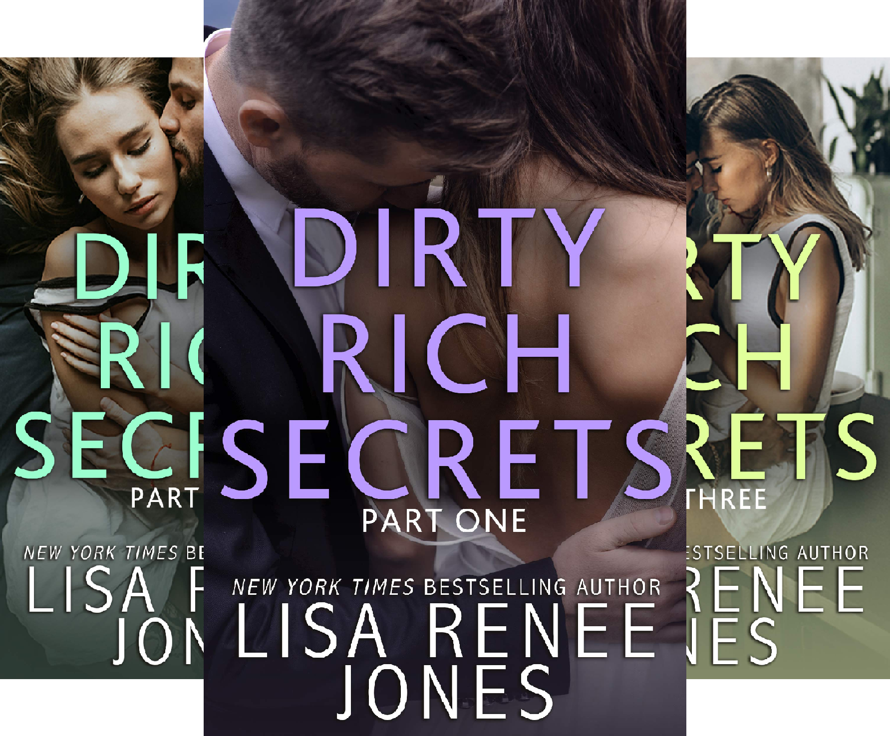Dirty Rich Secrets (3 Book Series) (Lisa Renee Jones-serie)