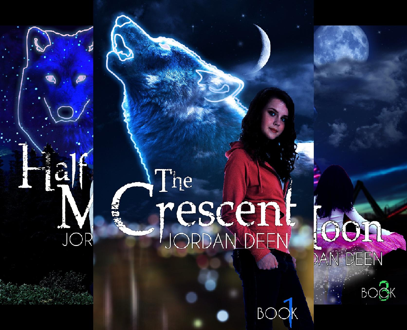 The Crescent Trilogy (3 Book Series) (Deen Jordan)