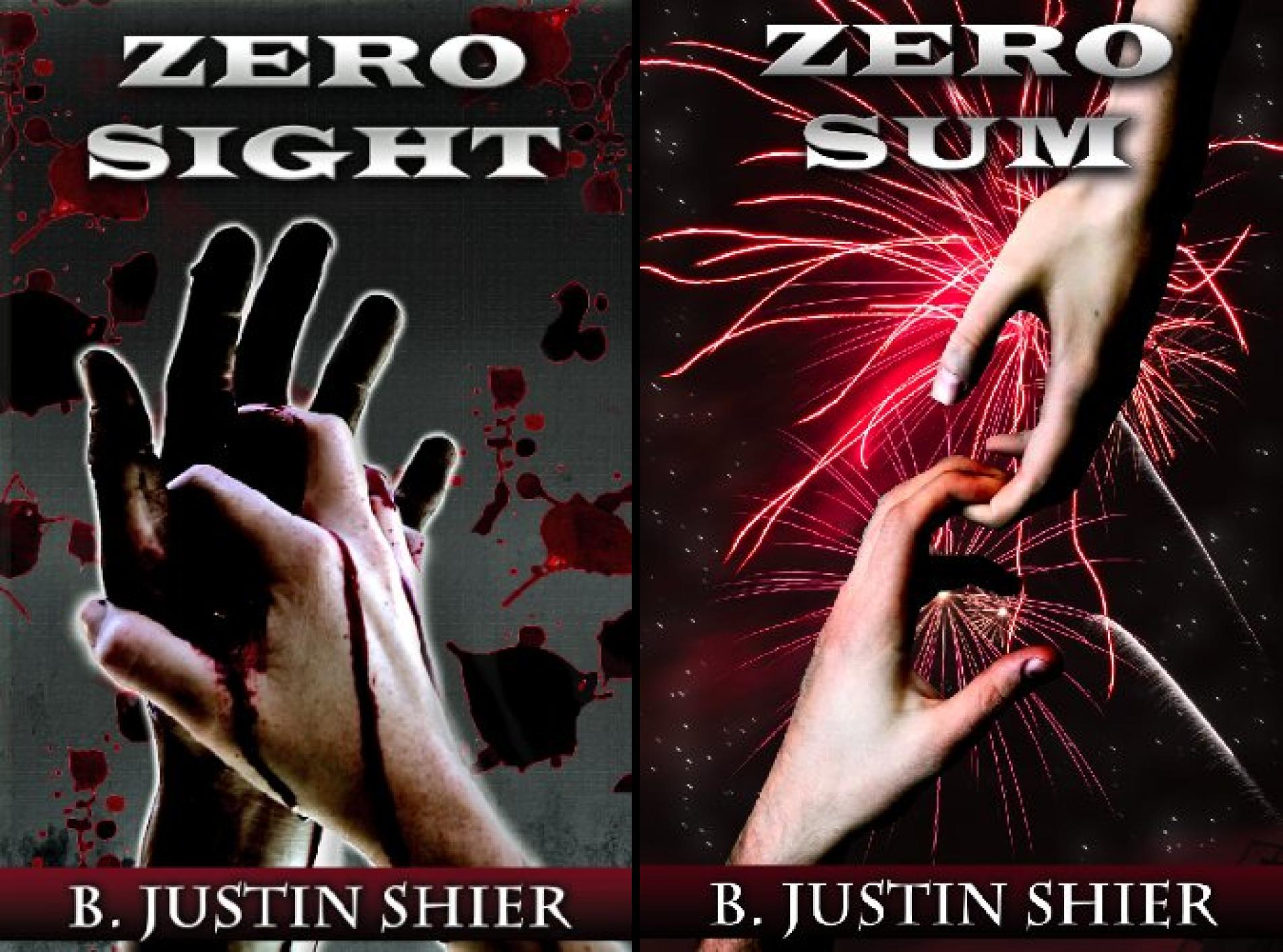 Zero Sight Series (2 Book Series) (Justin Shier B)