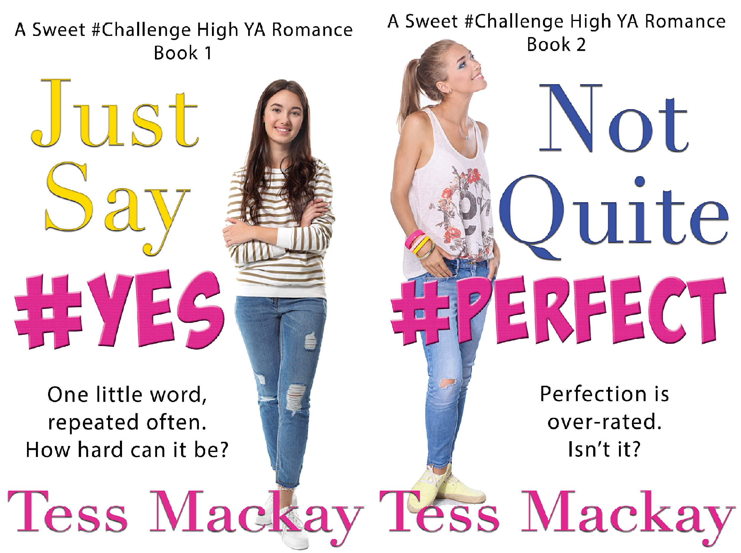 A Sweet #Challenge High YA Romance (2 Book Series)