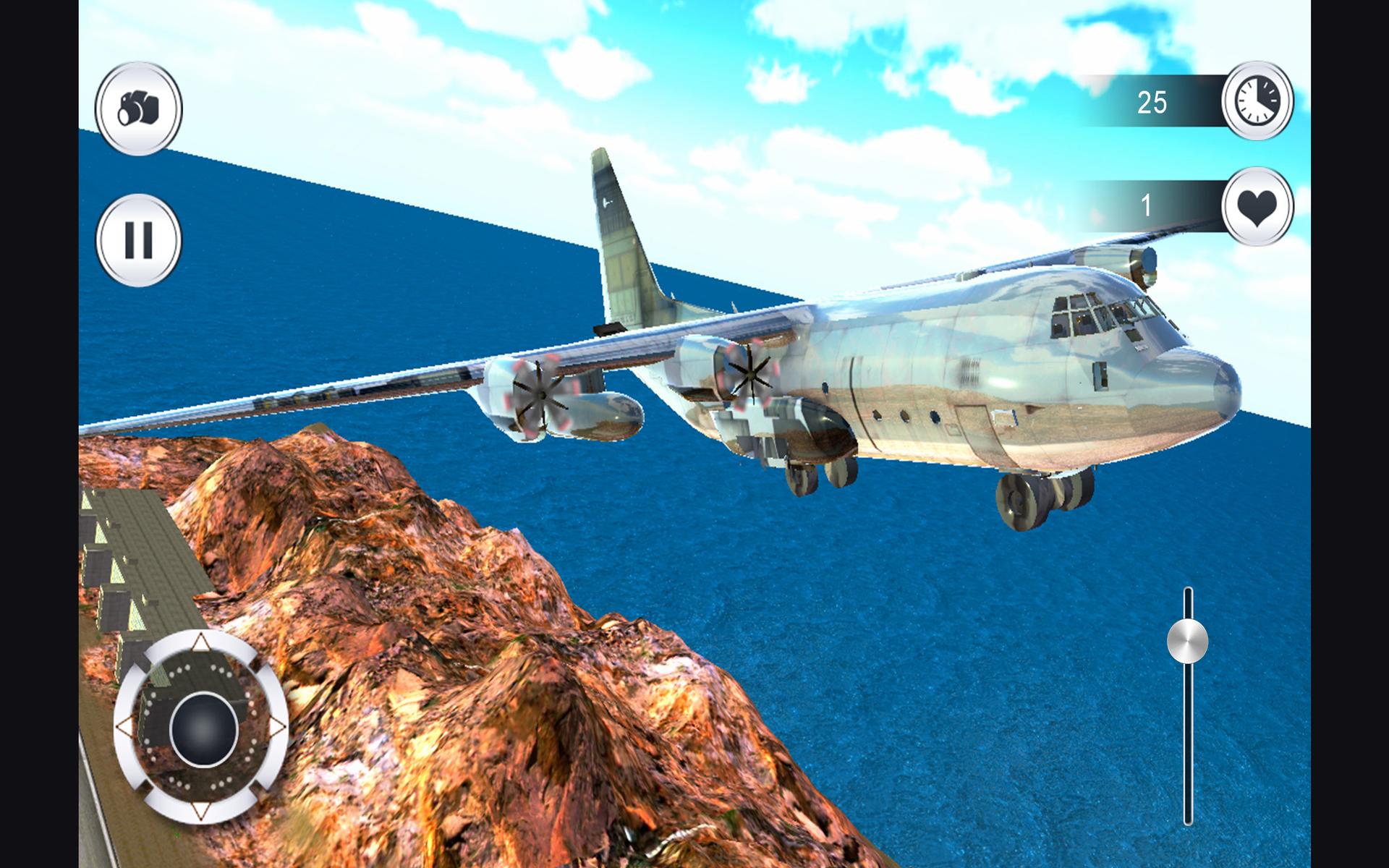 Airplane flight Pilot simulator 3D Free : Aircraft Flying ...