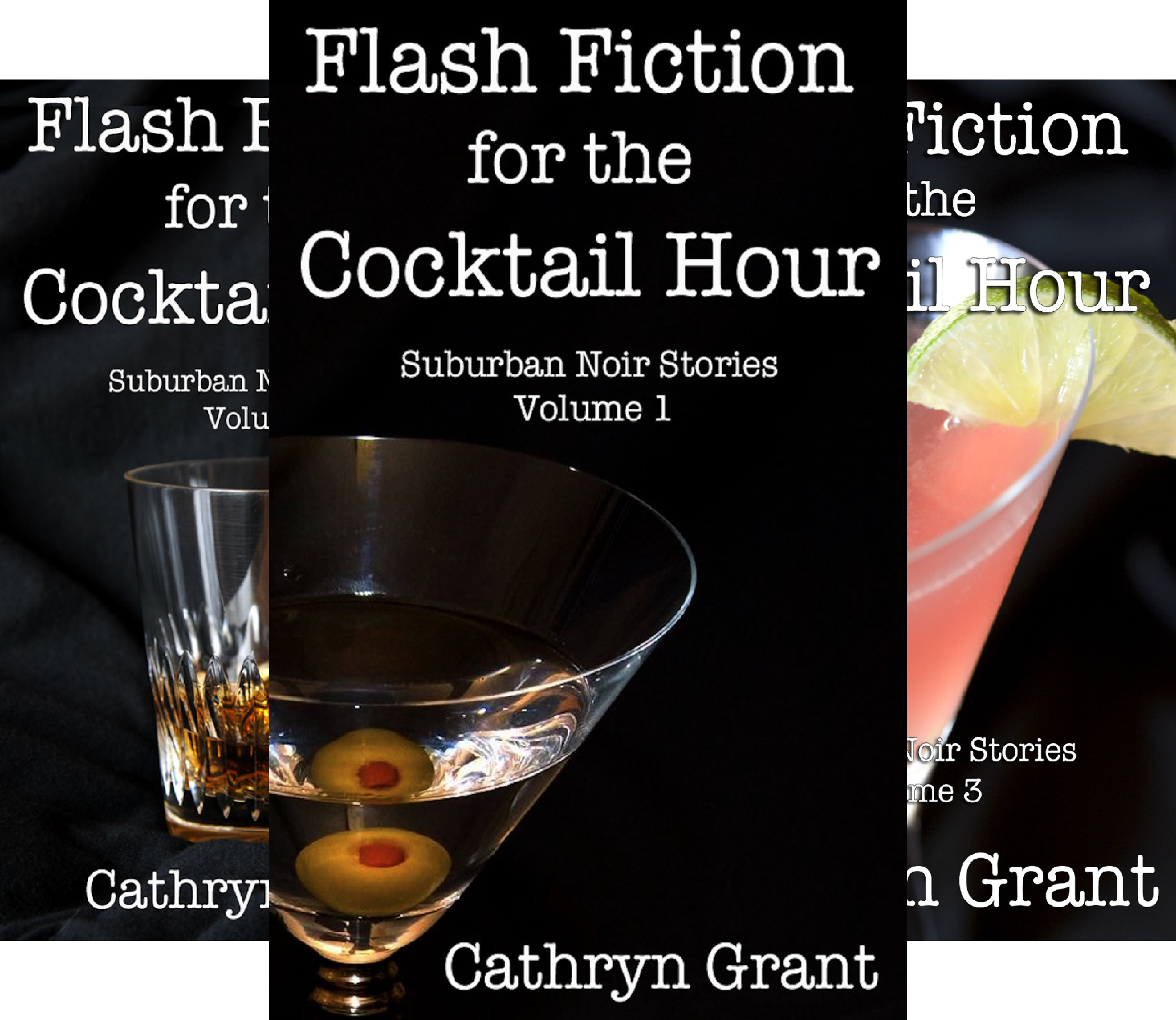 Flash Fiction for the Cocktail Hour (5 Book Series) - Flash-cocktail