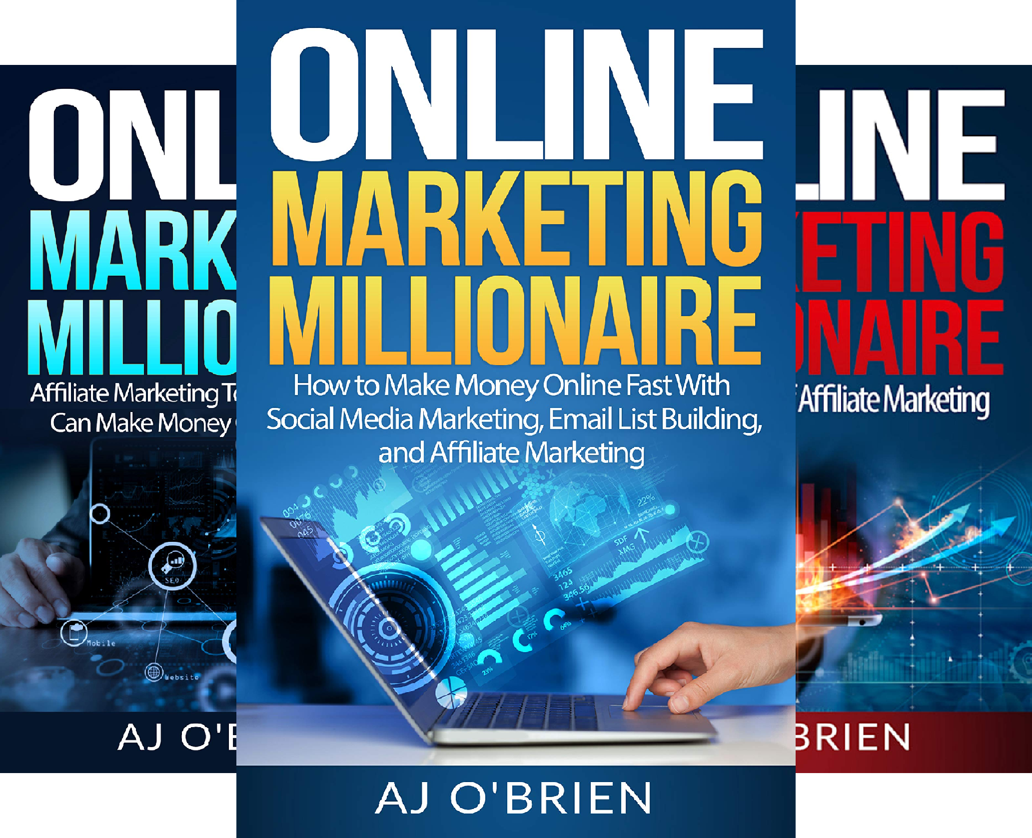 ONLINE MARKETING MILLIONAIRE (4 Book Series)
