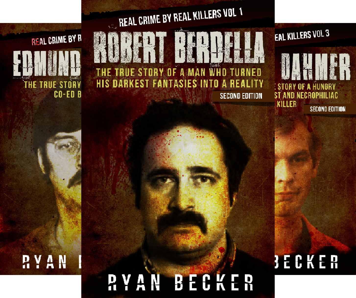 Real Crime by Real Killers (8 Book Series)