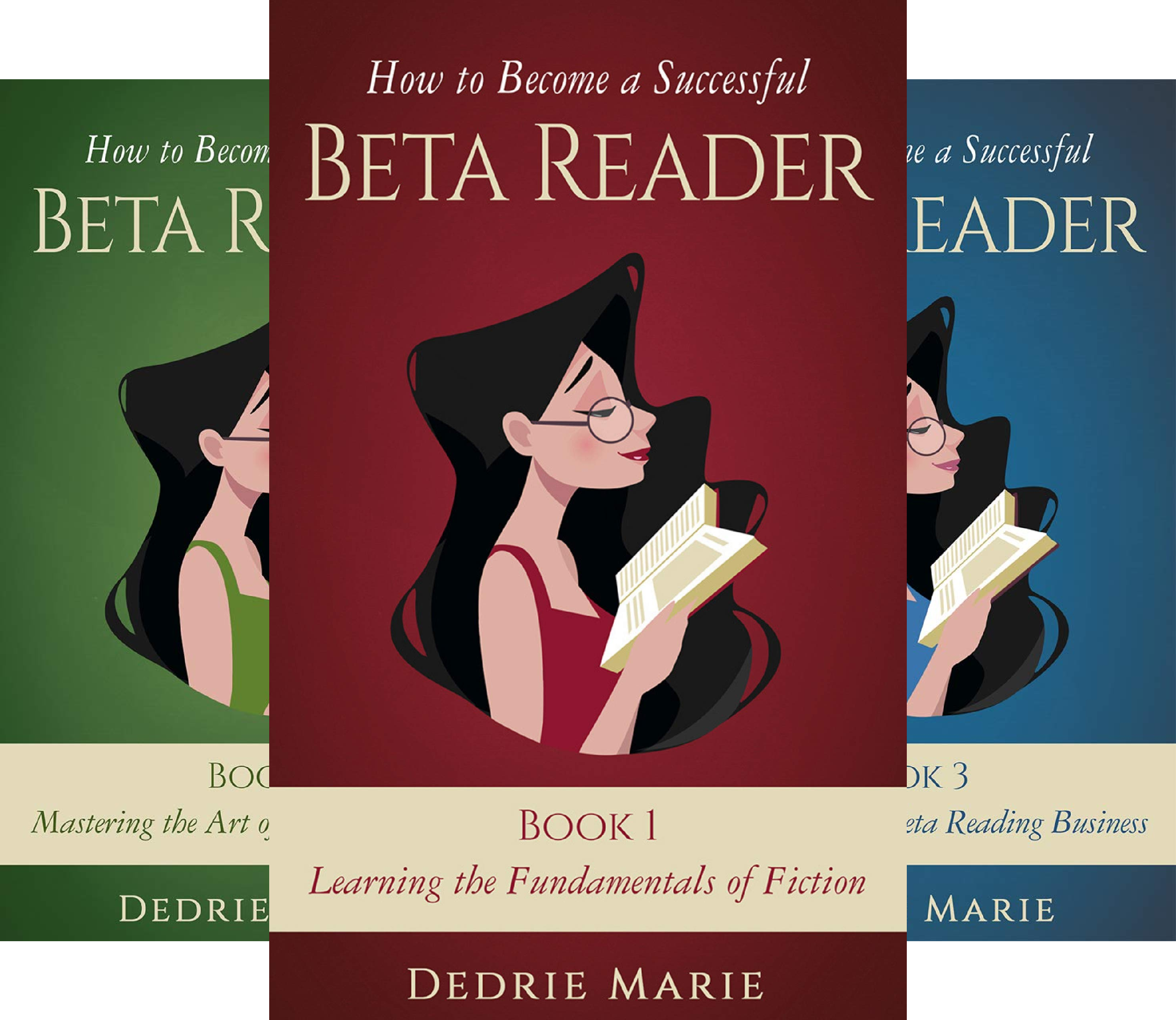 How to Become a Successful Beta Reader (3 Book Series)