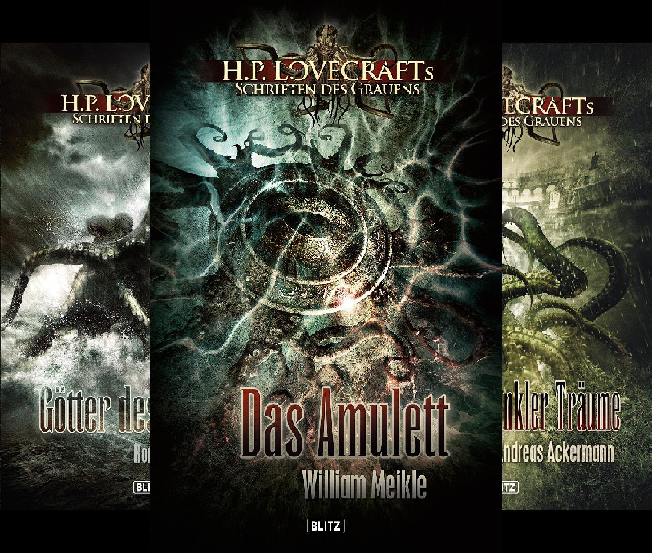 H. P. Lovecrafts Schriften des Grauens (Reihe in 6 Bänden)
