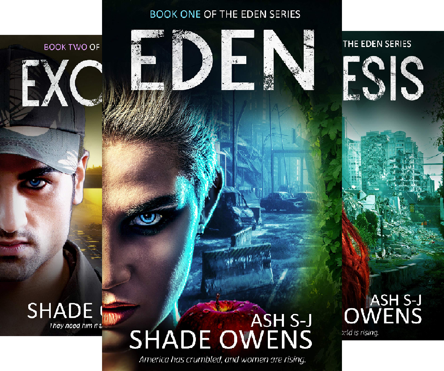 Eden (3 Book Series)