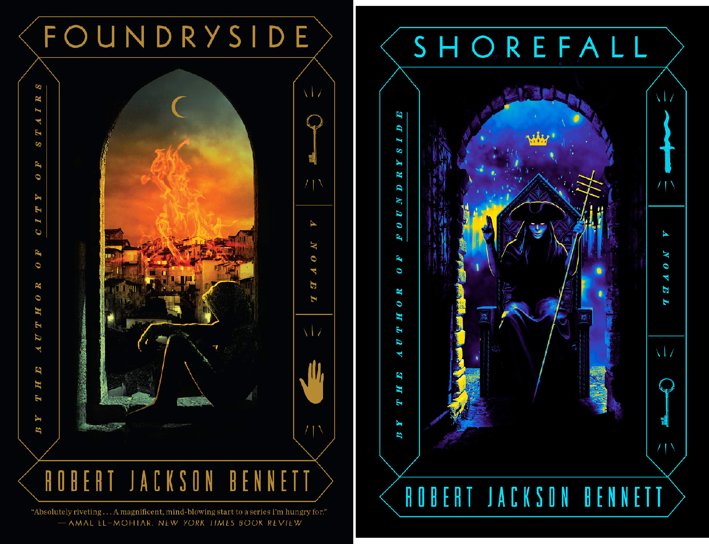 The Founders Trilogy (2 Book Series) Miracle Blade-set