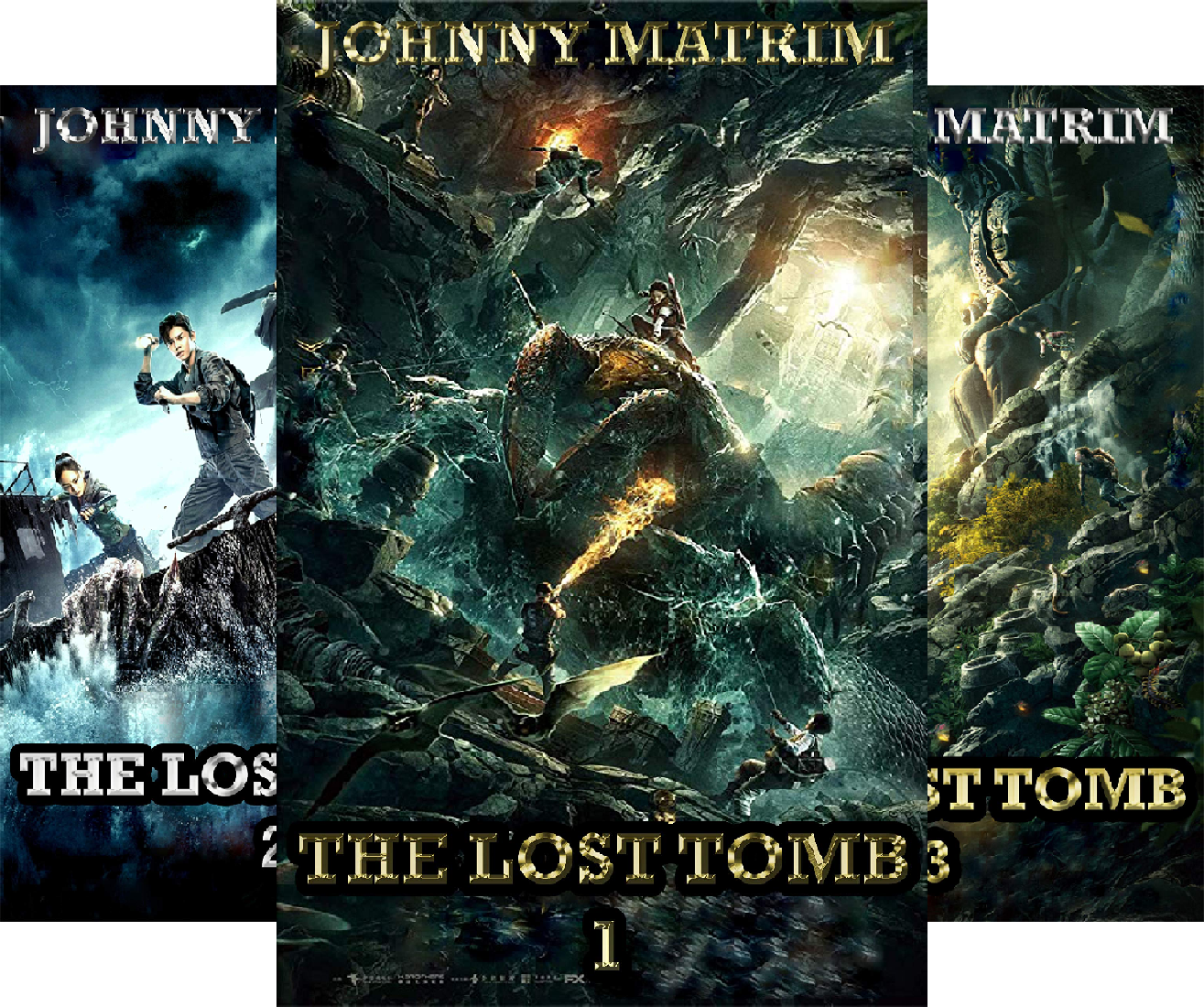 THE LOST TOMB (3 Book Series)