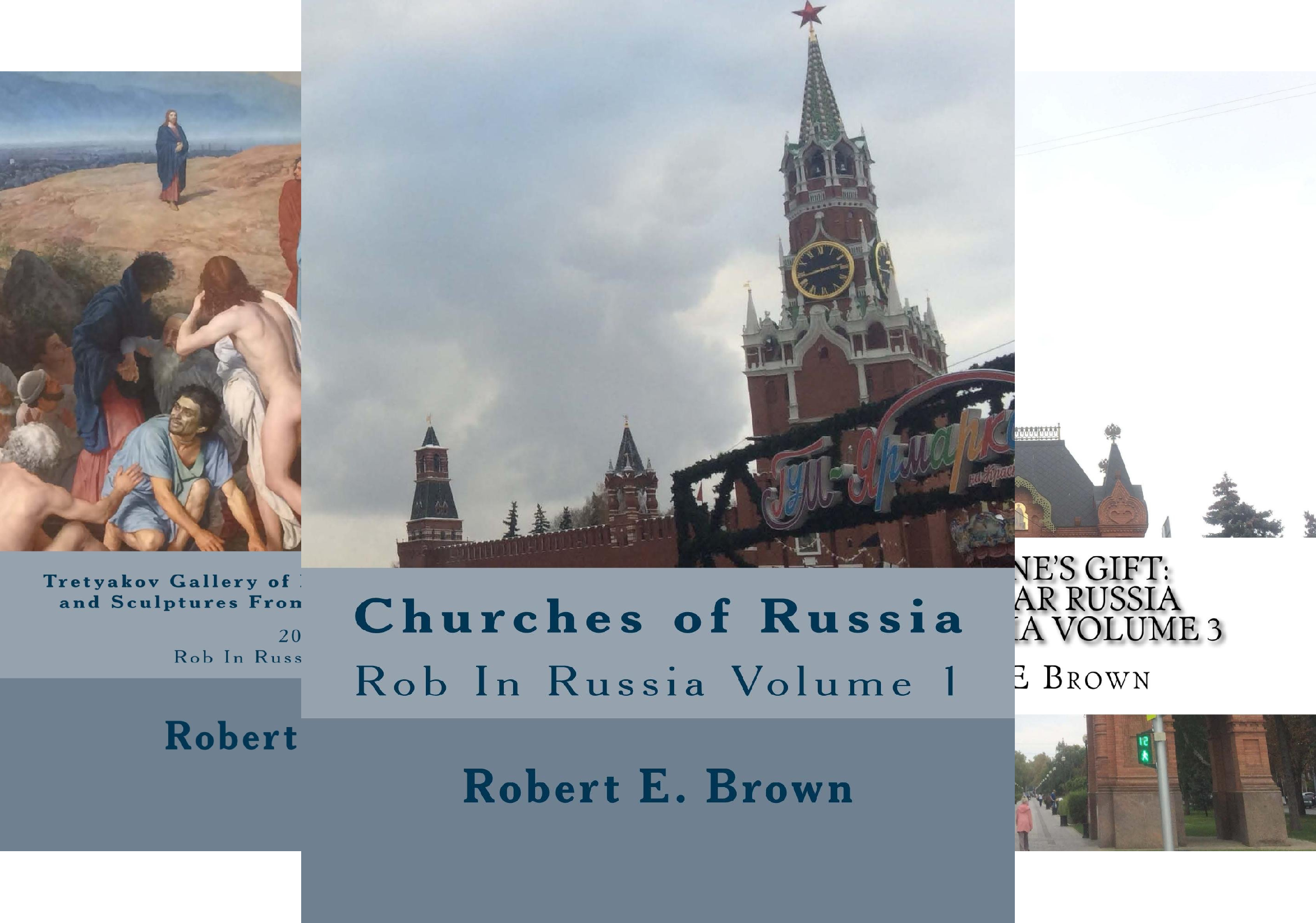 Rob In Russia (4 Book Series)