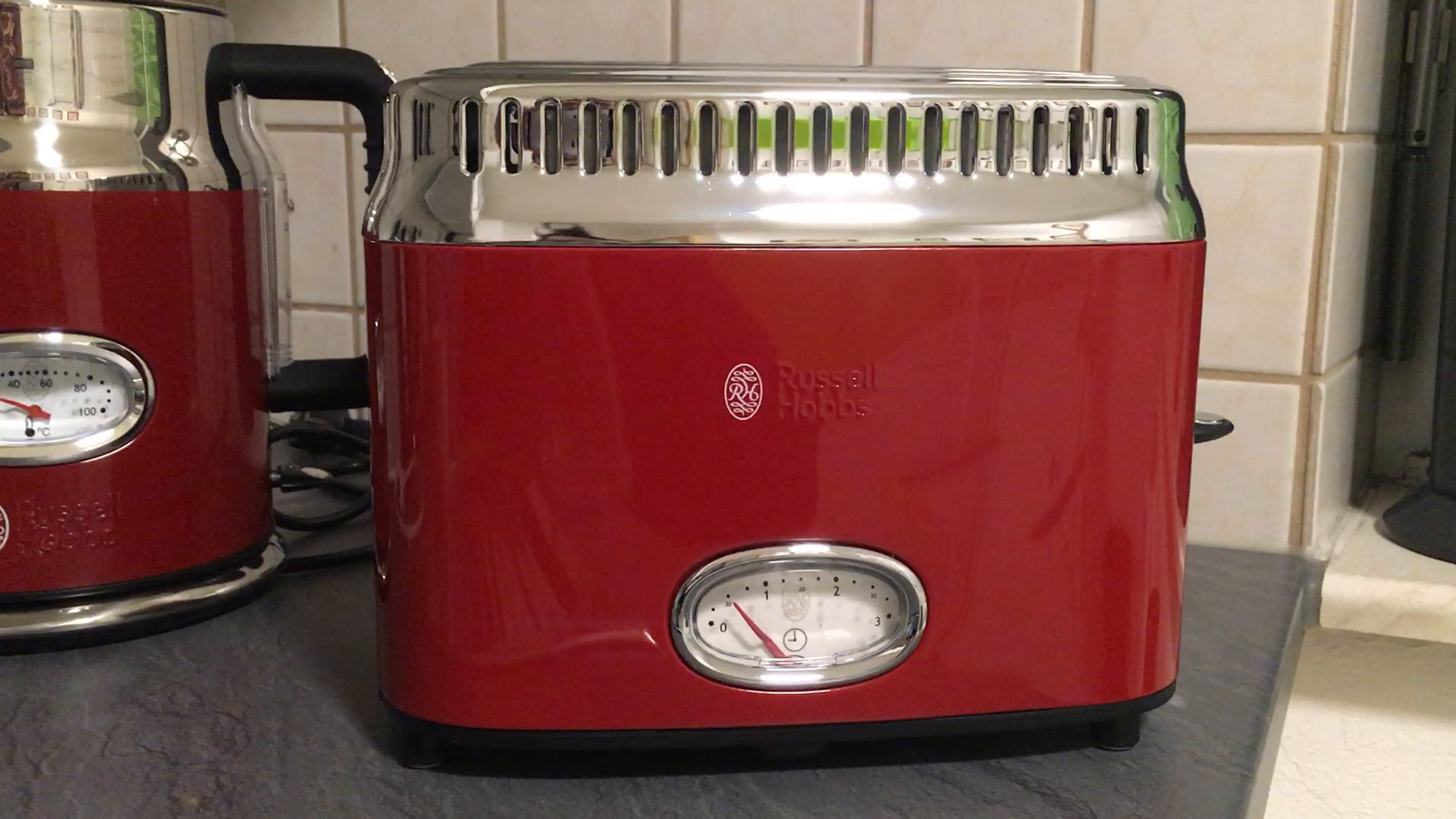 Amazon.de: russell hobbs 21680 56 toaster retro ribbon red retro