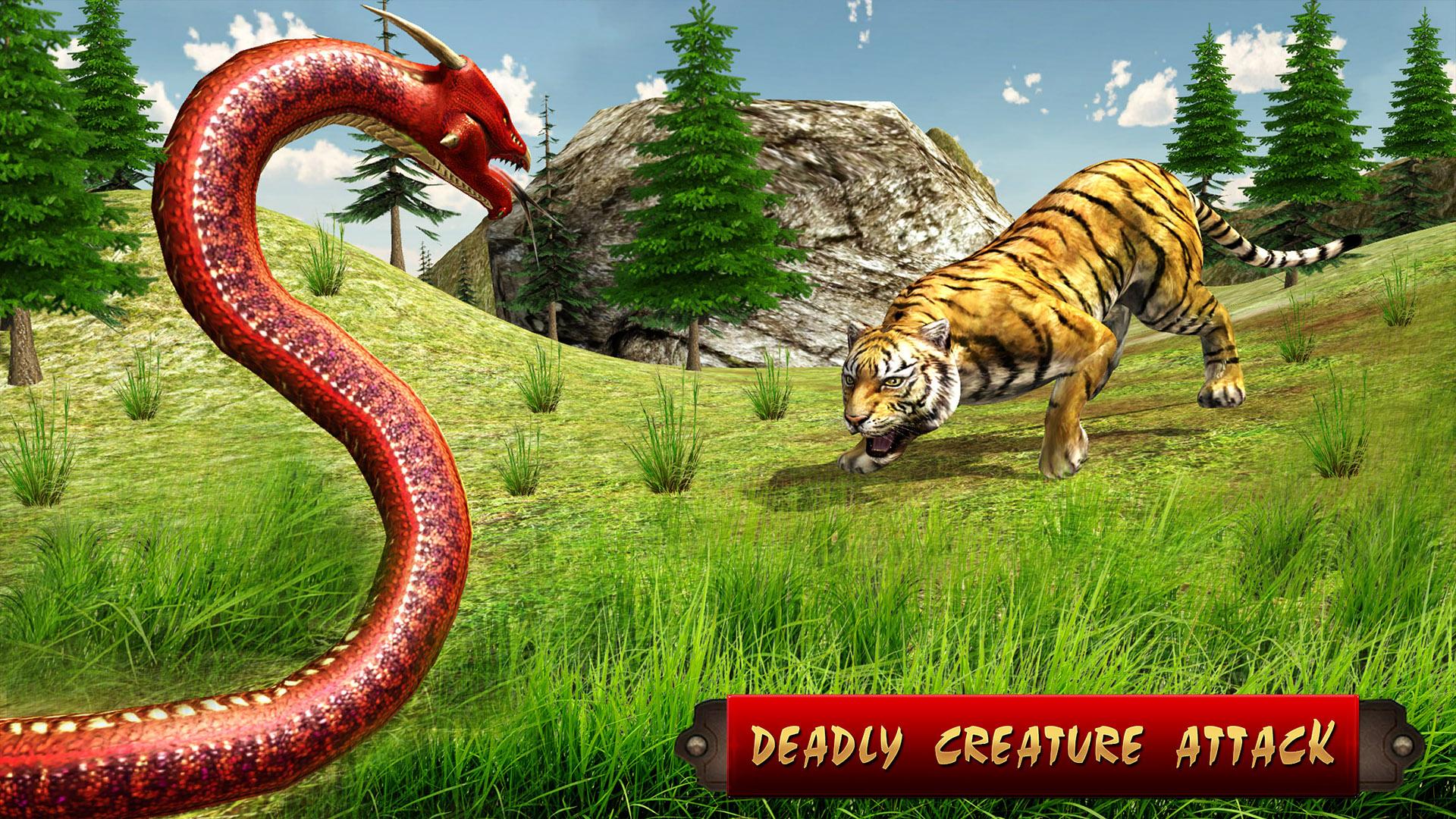 Anaconda Simulator 2018 Animal Hunting Games Amazonfr Appstore